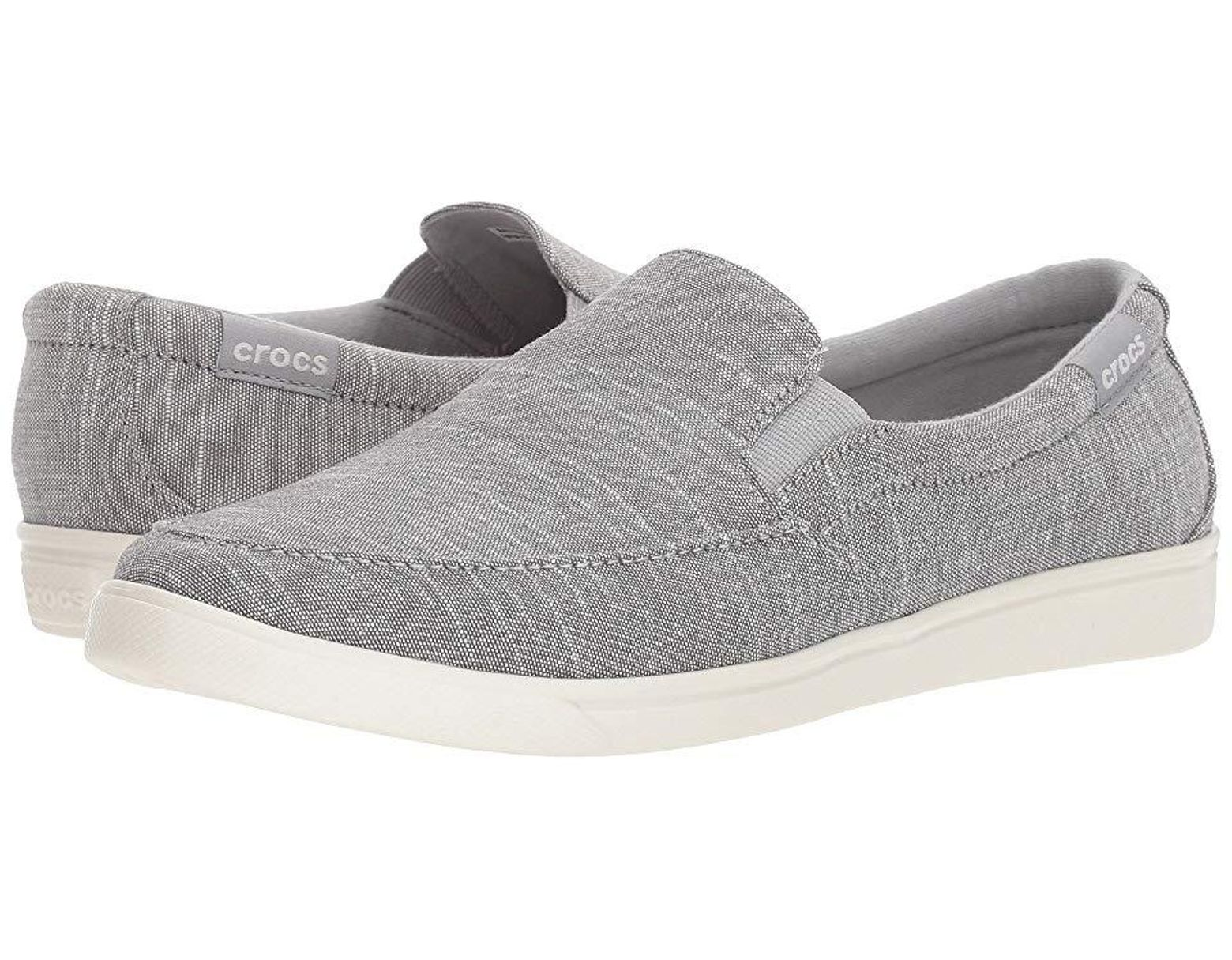 b68c05186e Crocs™ Citilane Low Slip-on (light Grey) Shoes in Gray - Save 46% - Lyst