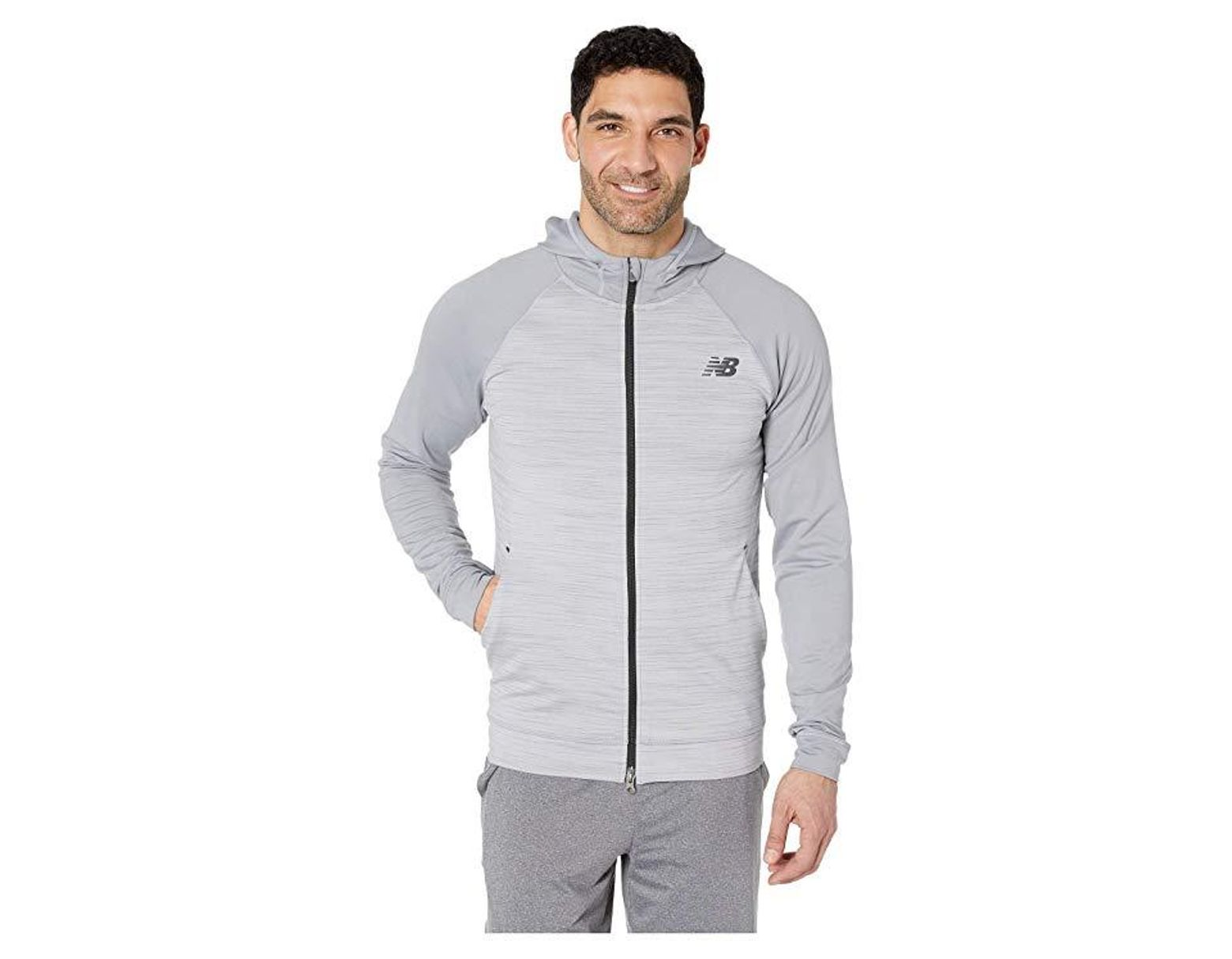 96d8d8f64b27b New Balance Anticipate 2.0 Jacket (athletic Grey) Coat in Gray for Men -  Save 2% - Lyst