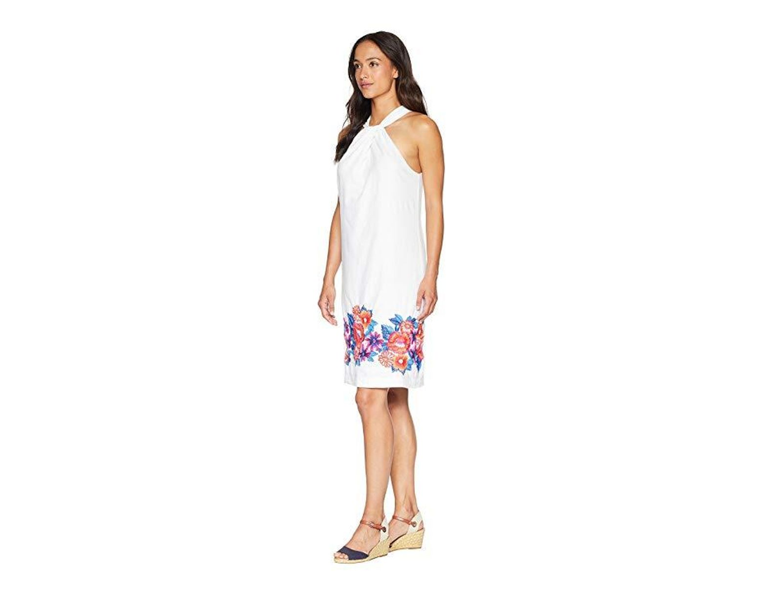 bb786c98dccd Tommy Bahama Frieda Floral Halter Dress (white) Dress in White - Save 5% -  Lyst