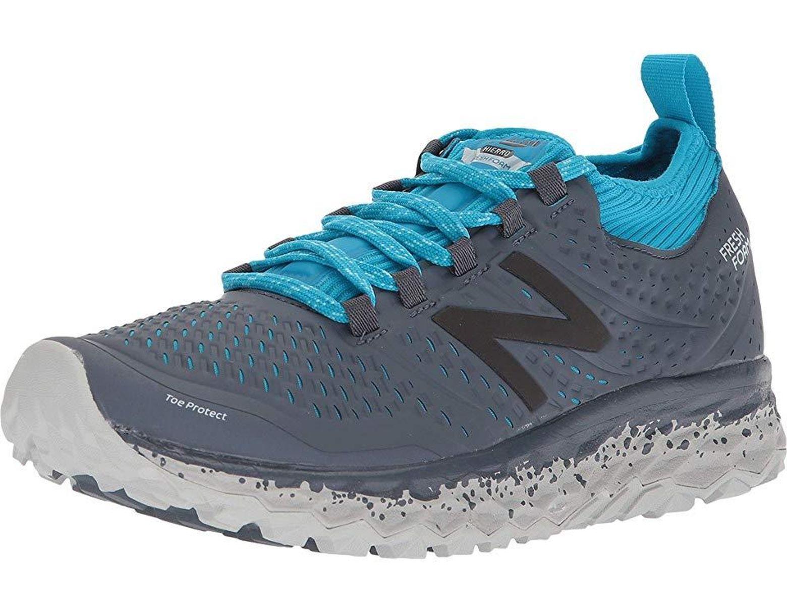 f3b1744f5b49b New Balance Fresh Foam Hierro V3 (thunder/maldives Blue) Running Shoes in  Blue - Save 74% - Lyst