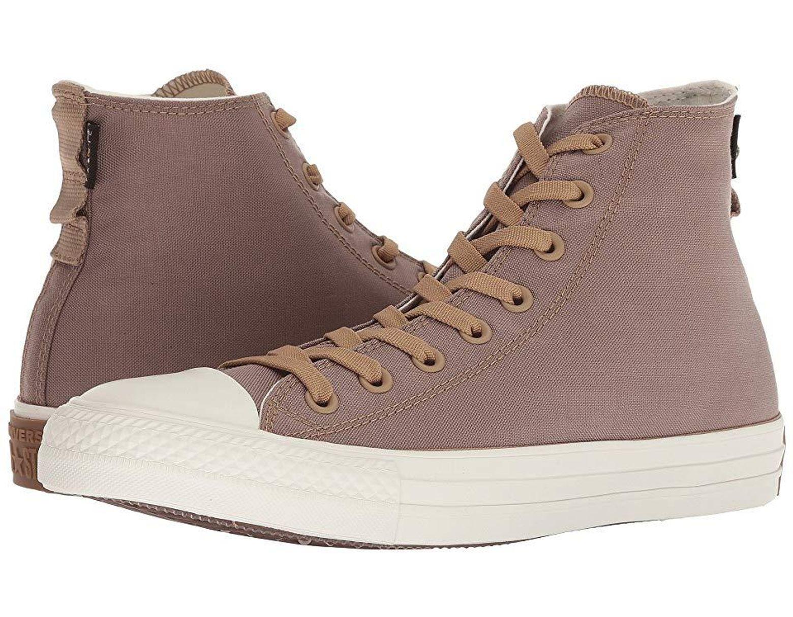 Women's Chuck Taylor Cordura Hi (teakegretbrown) Shoes