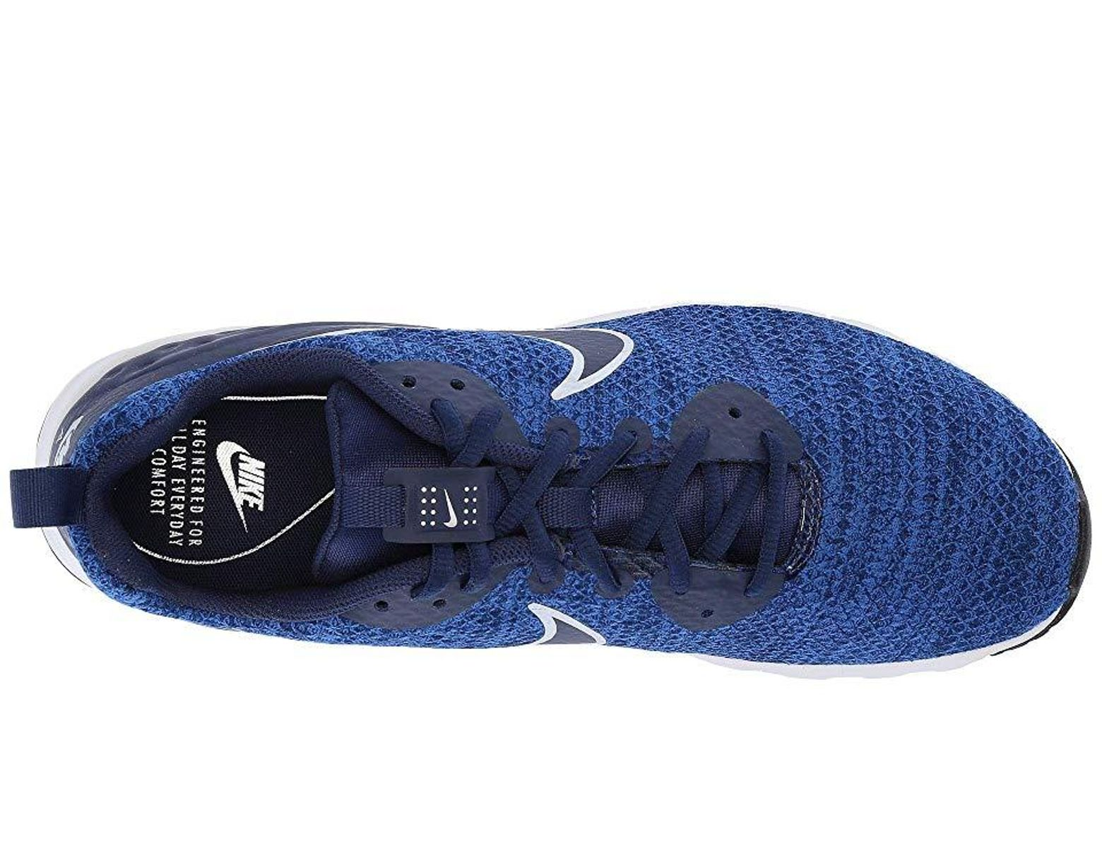 c39a35cb51 Nike Air Max Motion Lw Le (midnight Navy/midnight Navy/gym Blue) Shoes in  Blue for Men - Save 18% - Lyst