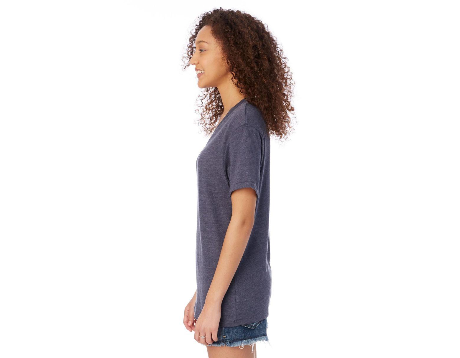 a9c02dc3b22 Alternative Apparel Boss V-neck Eco-jersey T-shirt in Blue for Men - Lyst