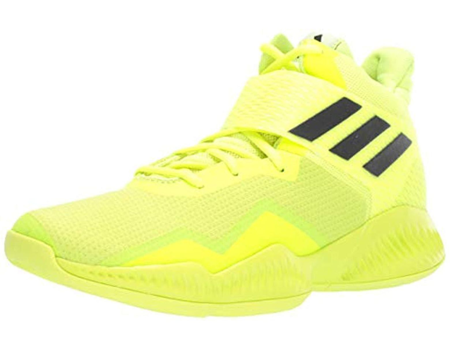 367b405bc Lyst - adidas Explosive Bounce 2018 Basketball Shoe in Yellow for Men