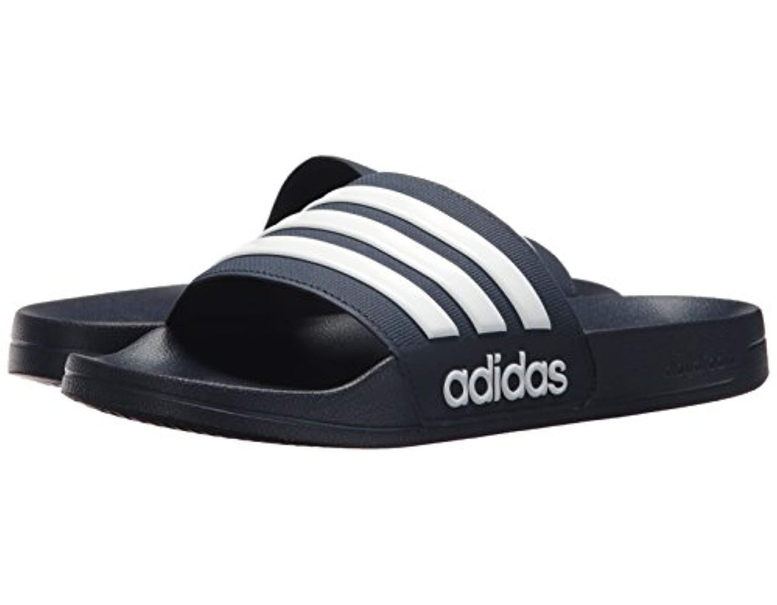 3592d8442456 Lyst - adidas Adilette Shower Slide Sandal