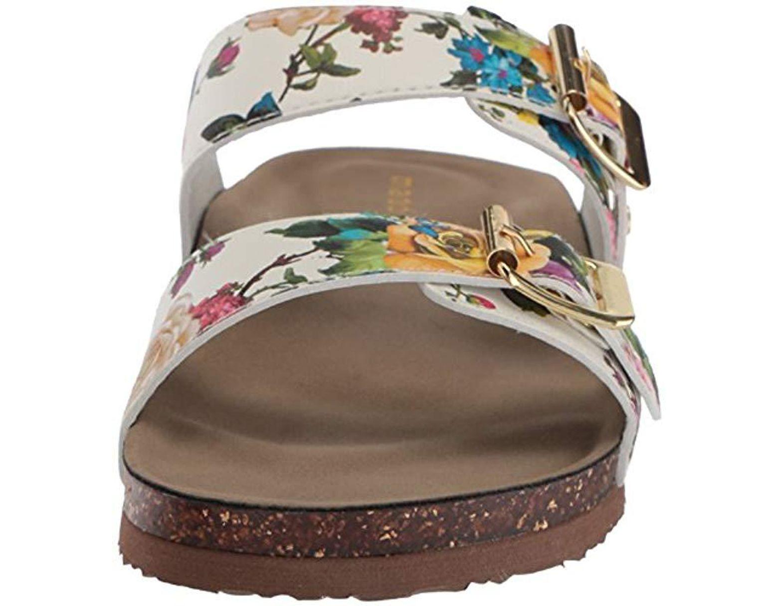 58cb3591b83b Madden Girl Brando Flat Sandal - Lyst