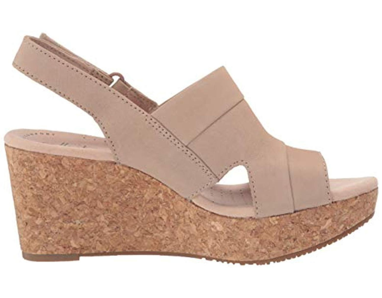 7a33a3cb9e15 Lyst - Clarks Annadel Ivory (navy Nubuck) Women s Shoes - Save 38%