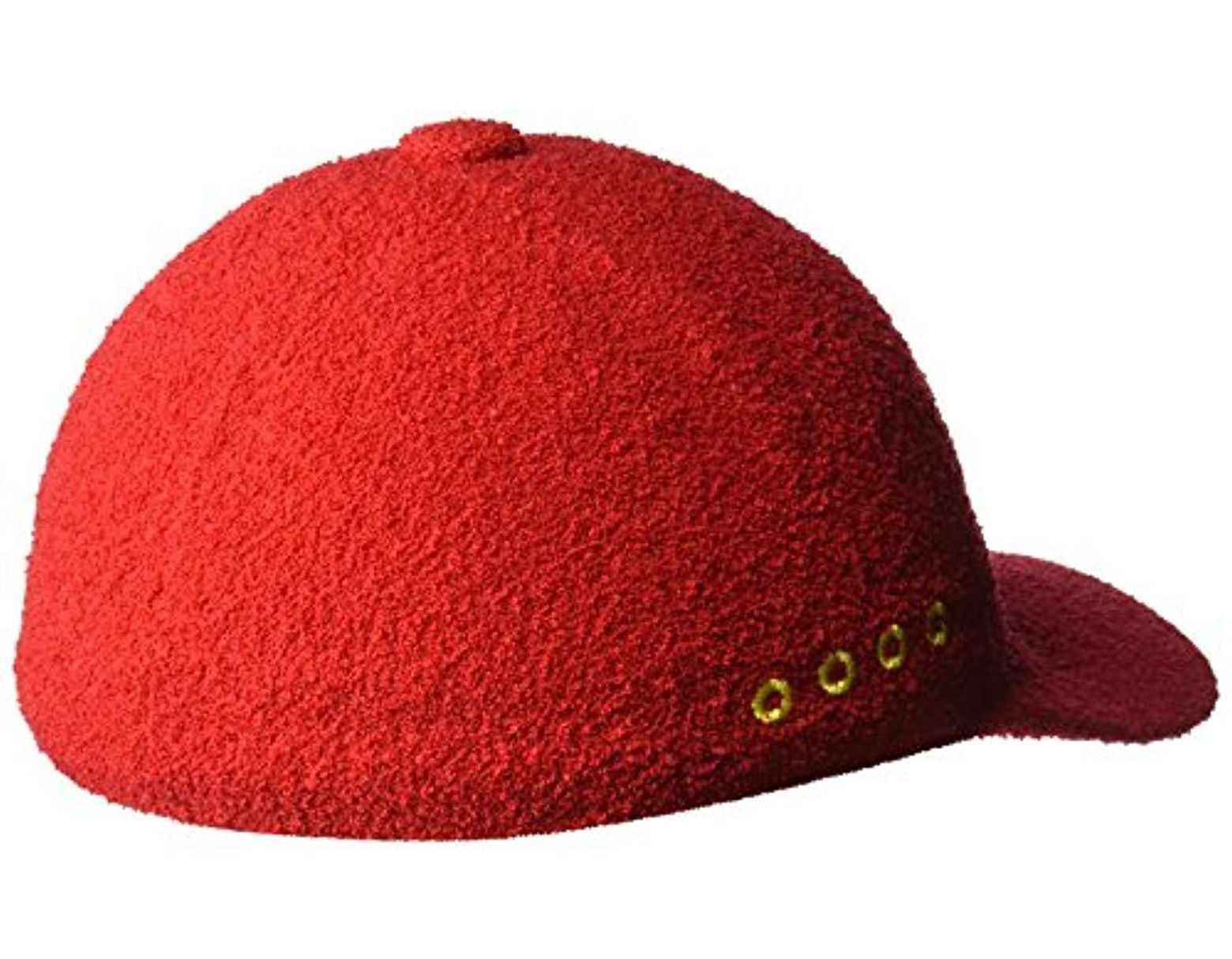 8da44a8395440b Kangol Ufo Spacecap Baseball Cap in Red for Men - Save 35% - Lyst