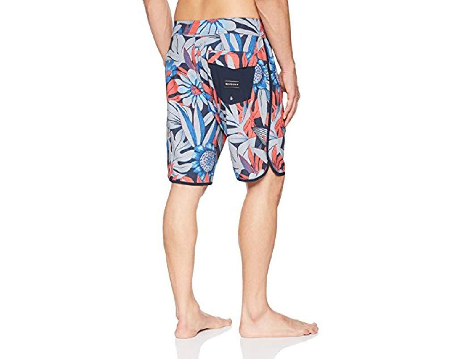 3c9487168f Quiksilver Highline Country Scallop 20 Boardshort Swim Trunk in Blue for Men  - Lyst