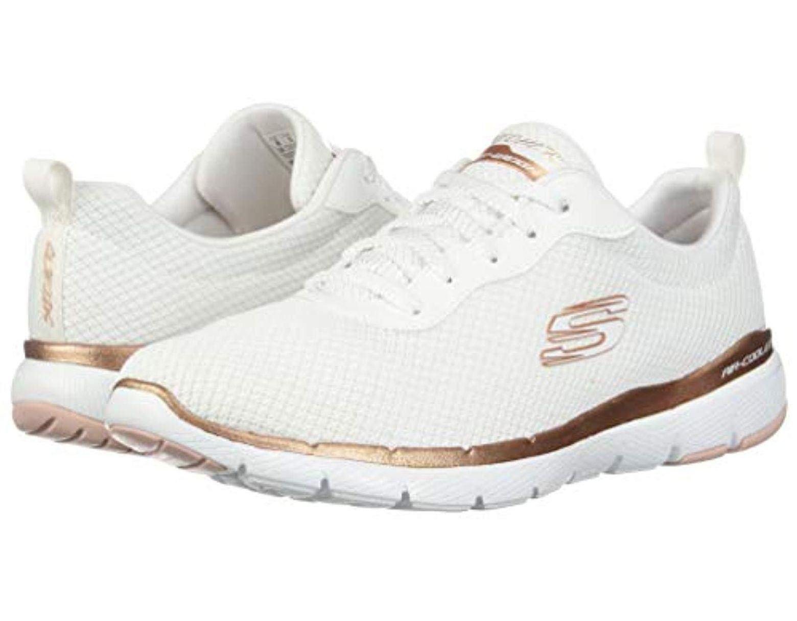 36a8c355 Skechers Flex Appeal 3.0-first Insight Sneaker in White - Save 34% - Lyst