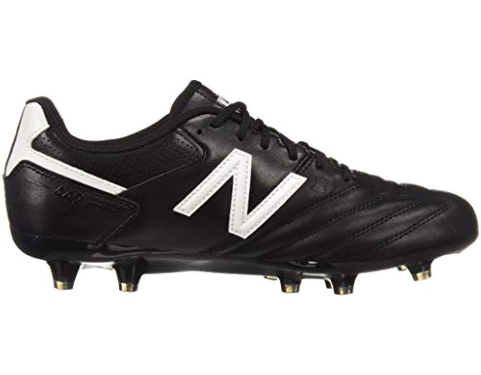 38f203f2aa2 New Balance 442 Team Fg V1 Classic Soccer Shoe in Black for Men - Lyst