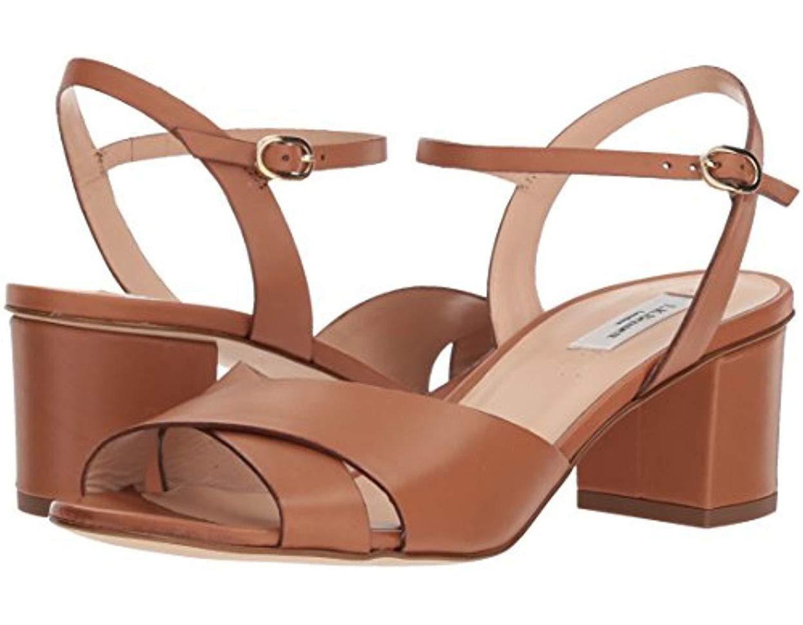 d2ecd55159f0 Lyst - L.K.Bennett Tabitha Heeled Sandal in Brown - Save 65%