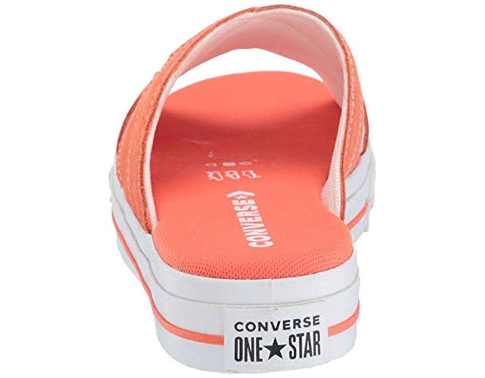 One Slip Suede Star Converse Lyst Sandal Ib6ymYfgv7