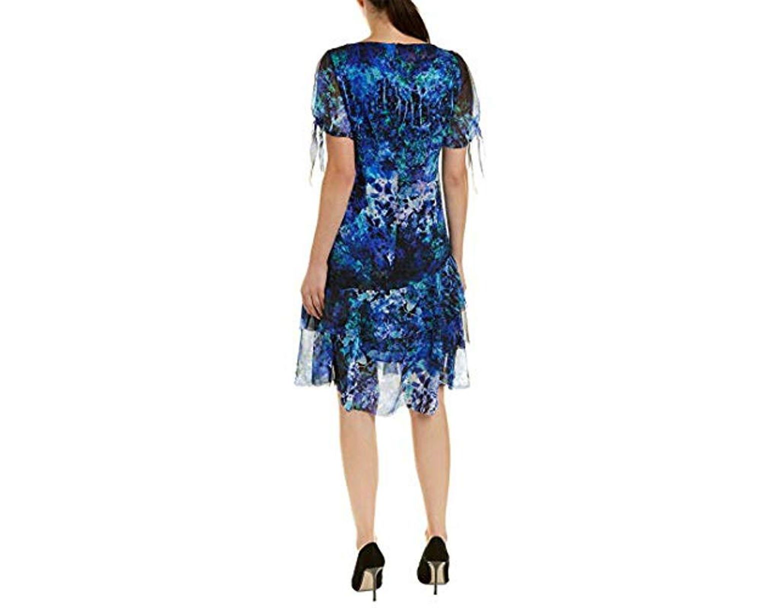 4ce73295ae07 Elie Tahari Maurine Dress in Blue - Save 68% - Lyst