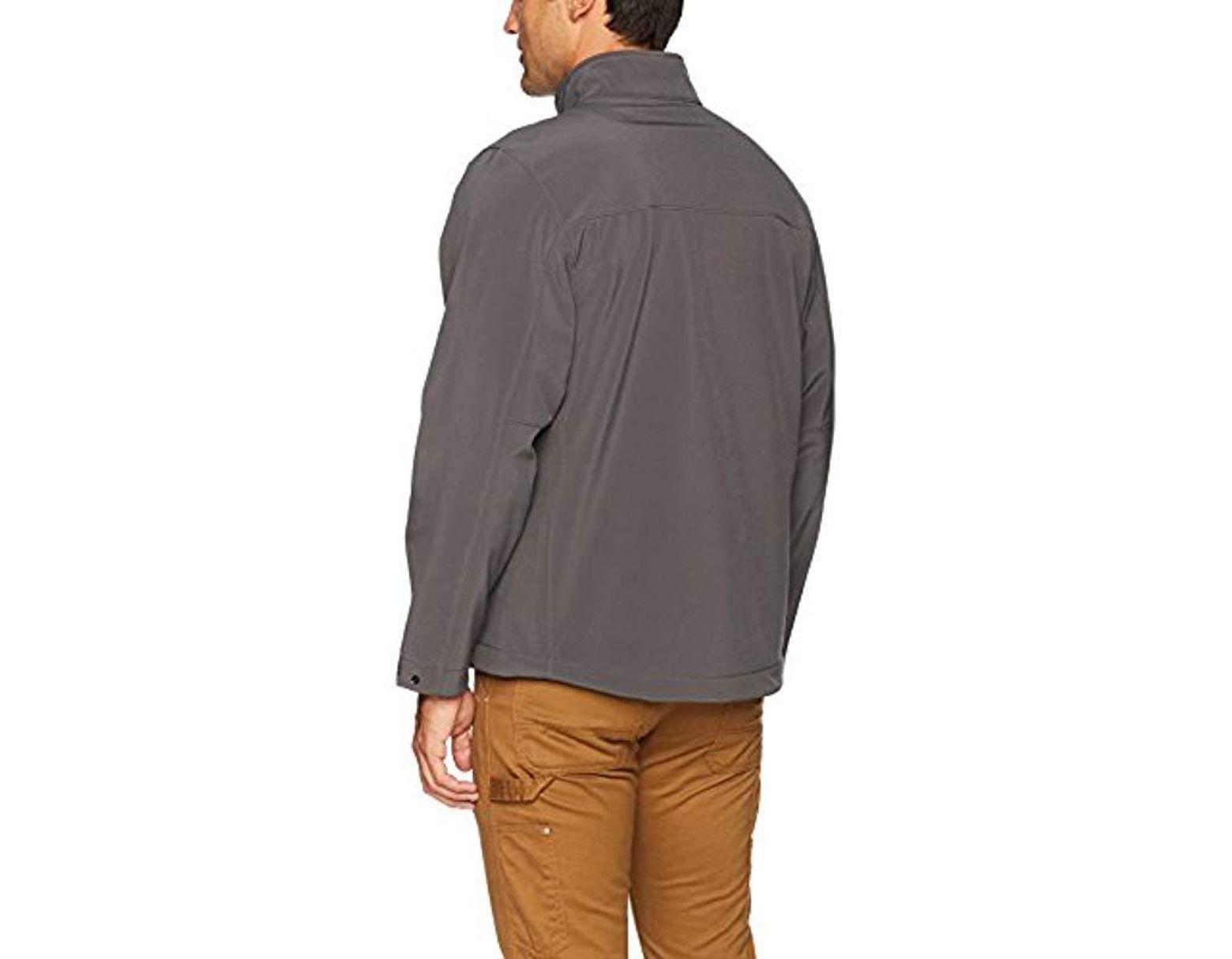 d66fe30d267 Timberland Power Zip Windproof Softshell Jacket in Gray for Men ...