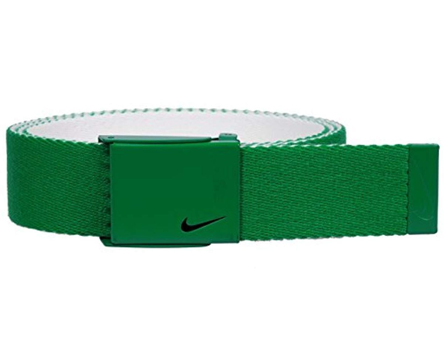 936a335cca Nike New Tech Essentials Reversible Web Belt, Pine Green/white, One Size in  Green for Men - Lyst