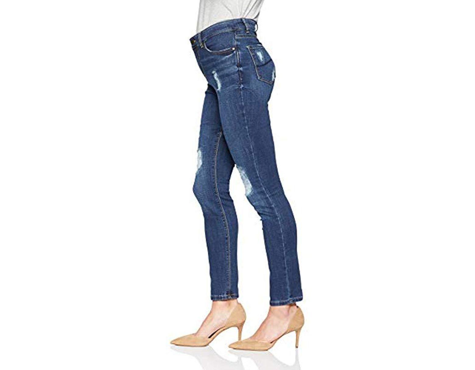 2f9c159c Lee Jeans Dream Soft Slim Fit Skinny Leg Jean in Blue - Lyst