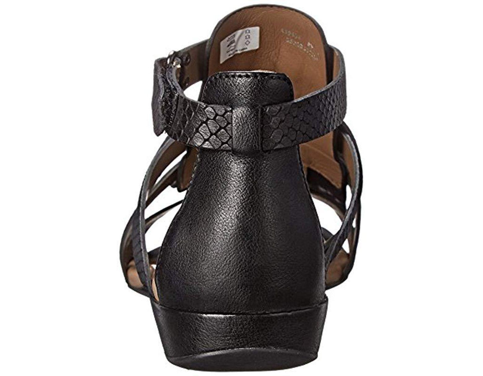 Sandal Footwear Gladiator S Bouillon In Black Ii Save 58Lyst Ecco nN0vwm8