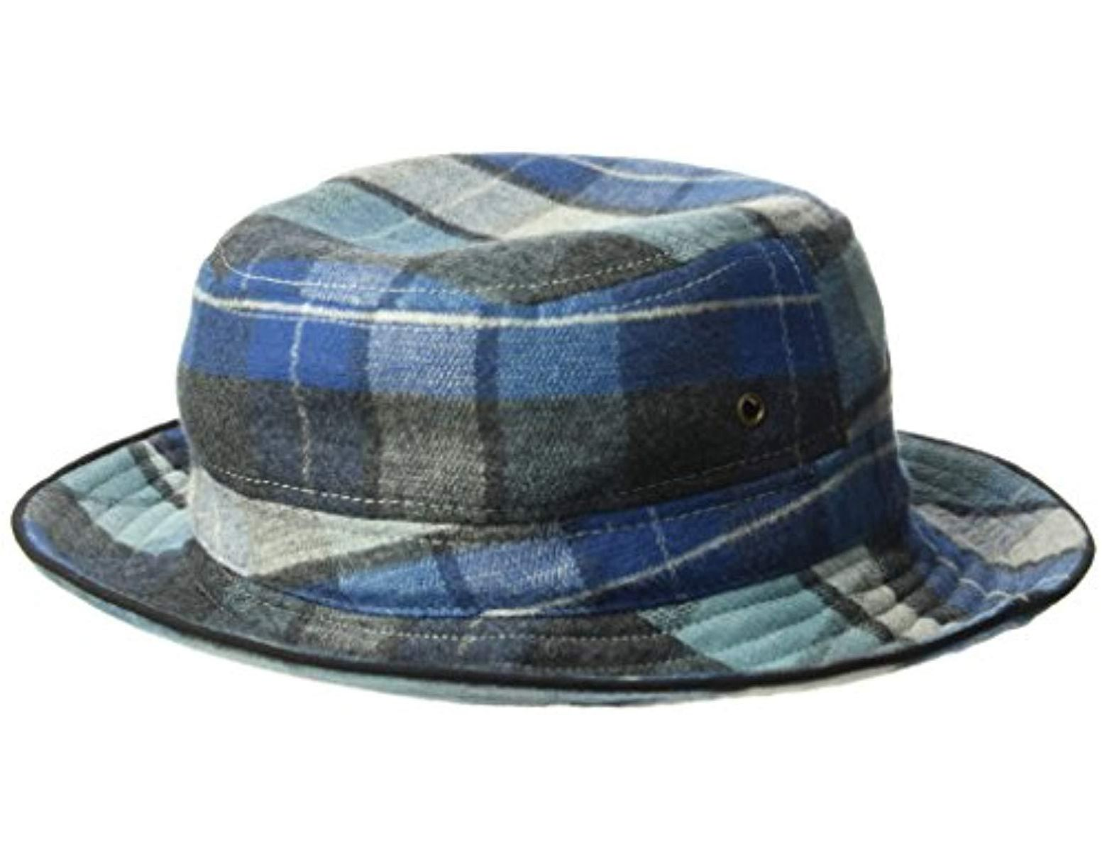 b81f8b4400bc10 Pendleton Surf Bucket Hat in Blue for Men - Save 14% - Lyst