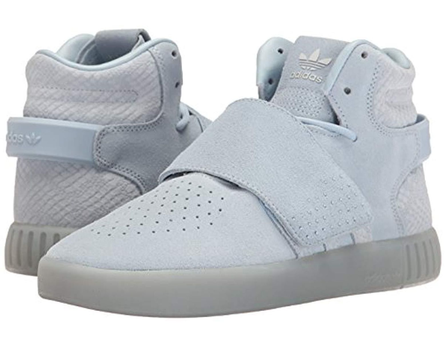 best sneakers b135d a87f7 Lyst - adidas Originals Tubular Invader Strap W Fashion Sneaker in Blue -  Save 85%