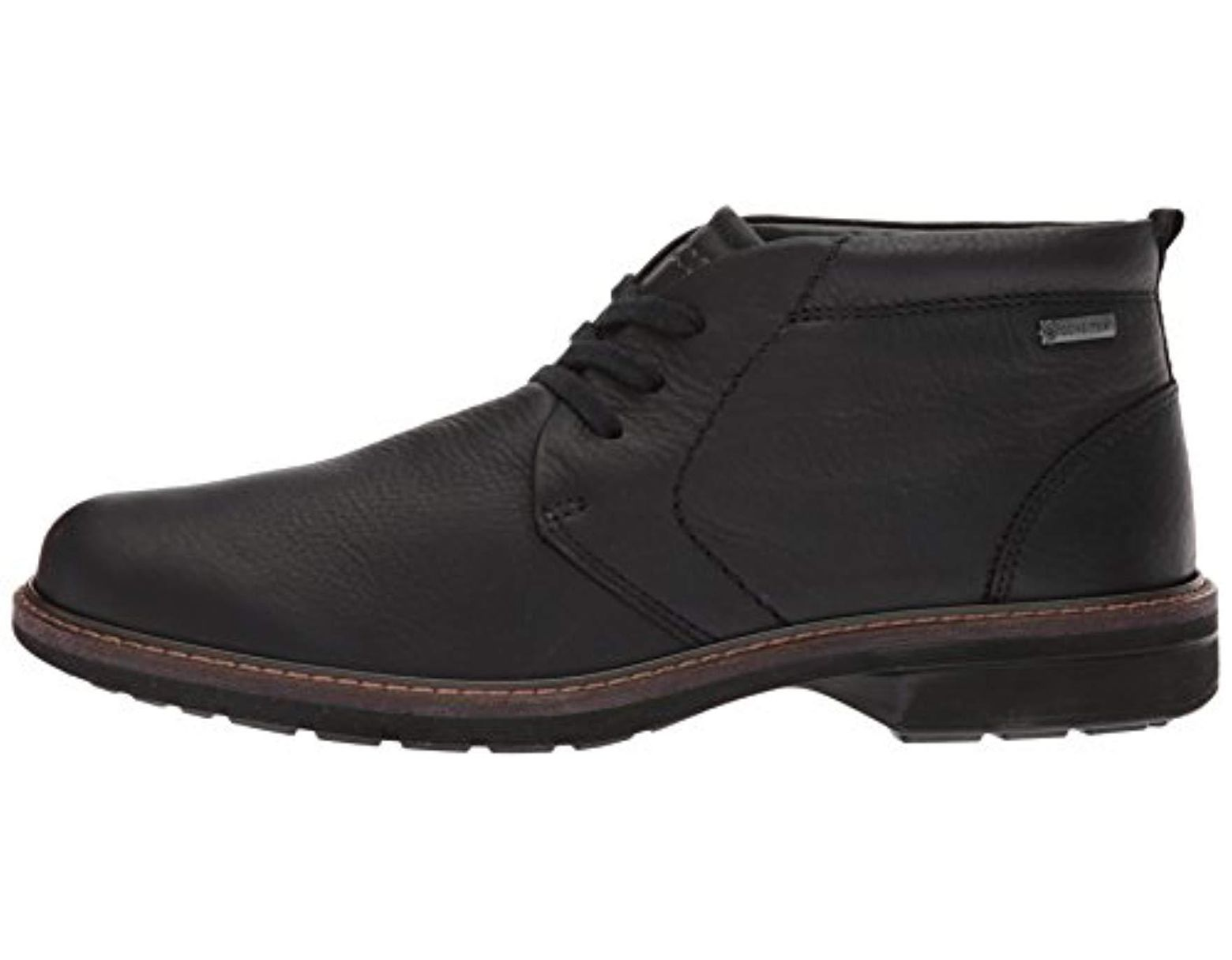 4dc2aed2b4d3b Ecco Turn Gore-tex Tie Chukka Boot in Black for Men - Save 21% - Lyst