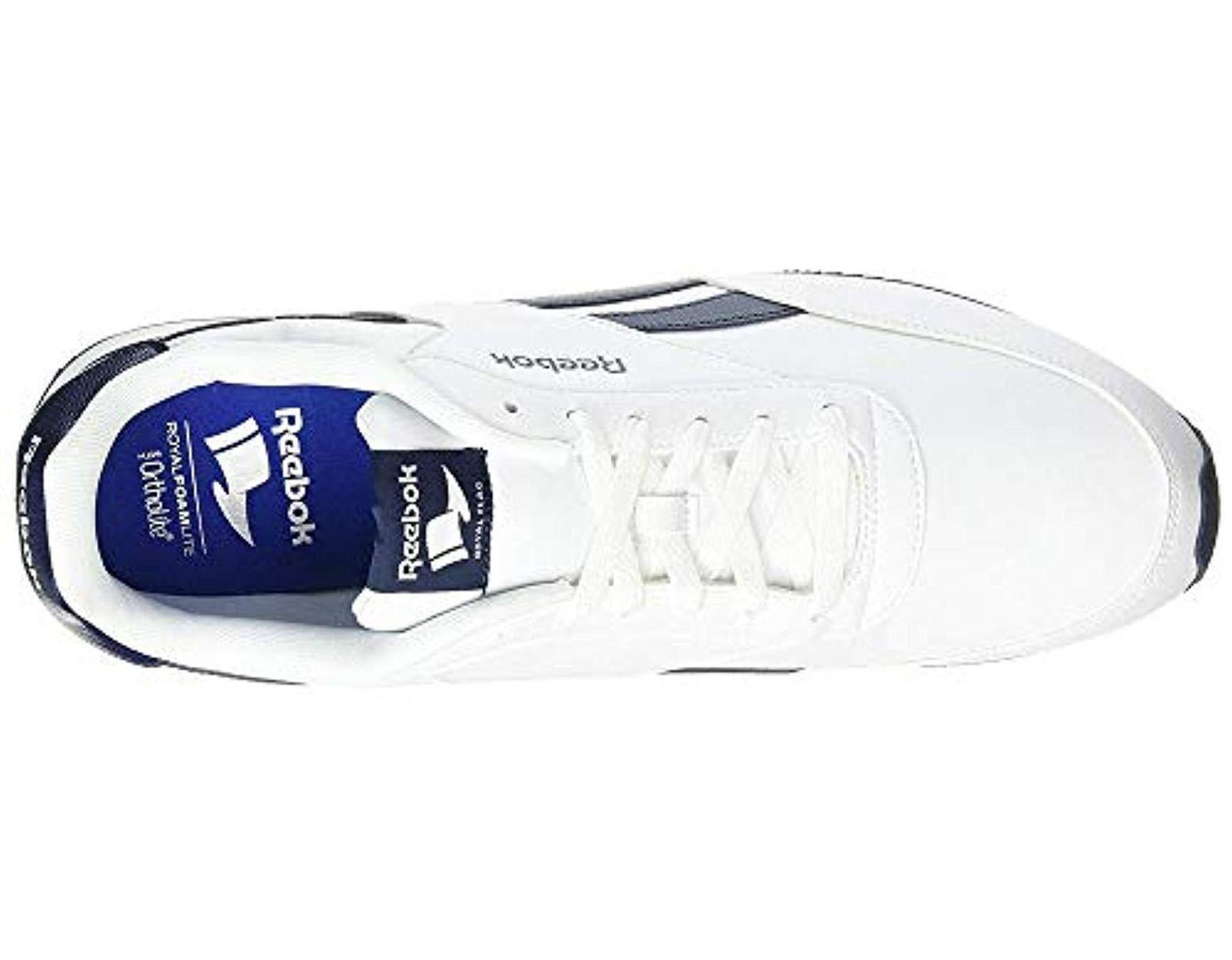 2707de6bab88b Reebok Royal Cl Jog 2l Gymnastics Shoes in White for Men - Save 32% - Lyst