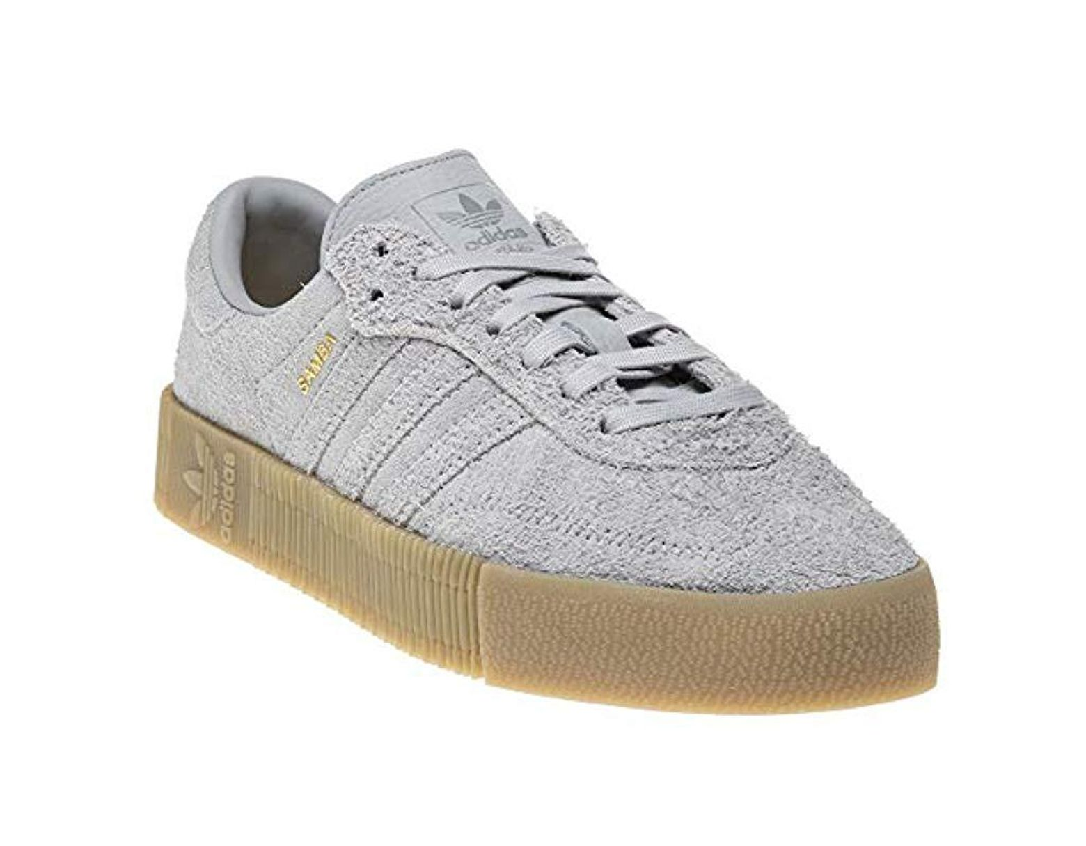 098784fee47f7 adidas Sambarose W Fitness Shoes in Gray - Lyst