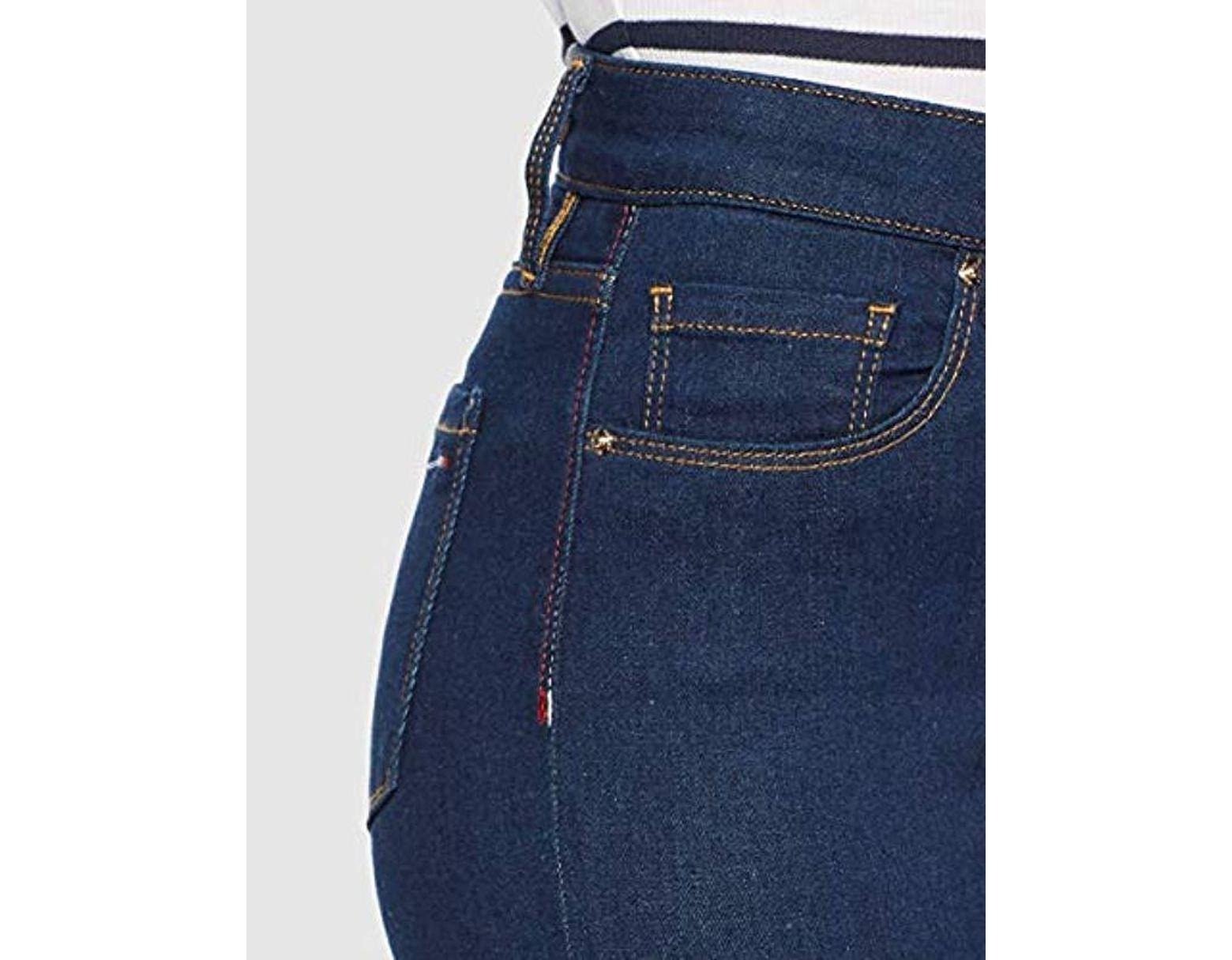 85b11af681 Tommy Hilfiger Th Ess Como Skinny Rw Joslyn Jeans in Blue - Save 1% - Lyst