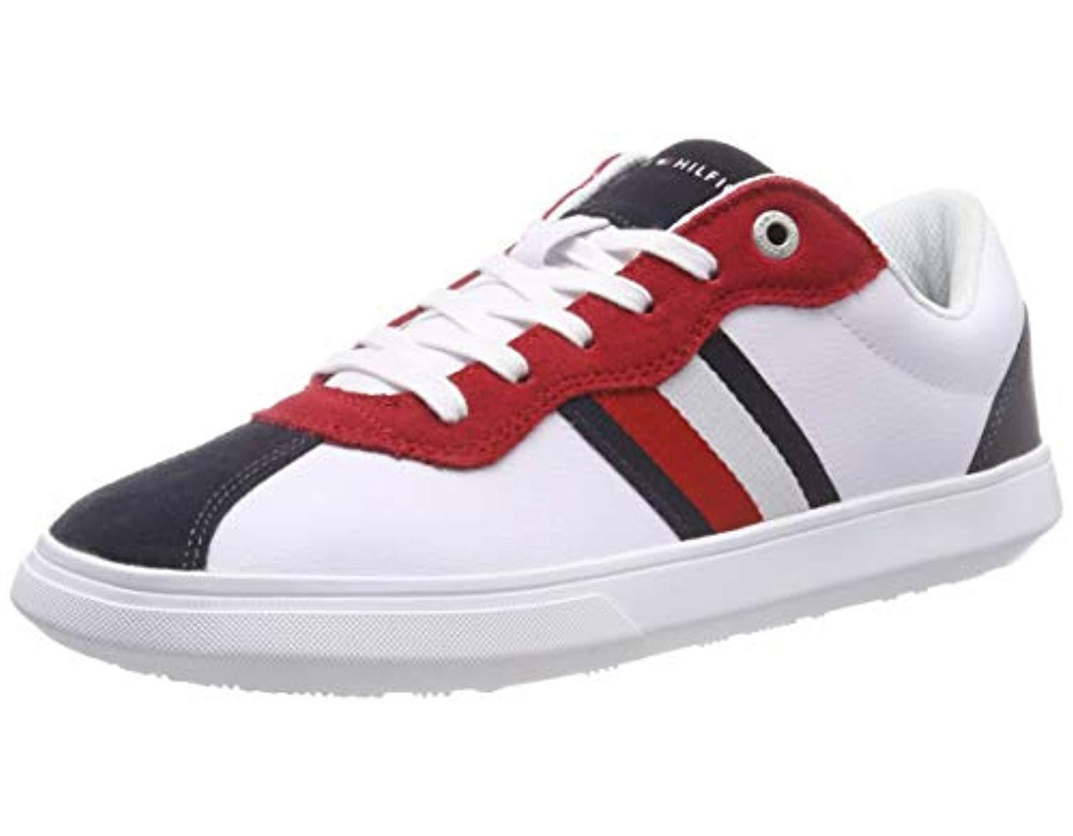 f0559ee9f27 Tommy Hilfiger Essential Corporate Cupsole Low-top Sneakers in White for  Men - Lyst