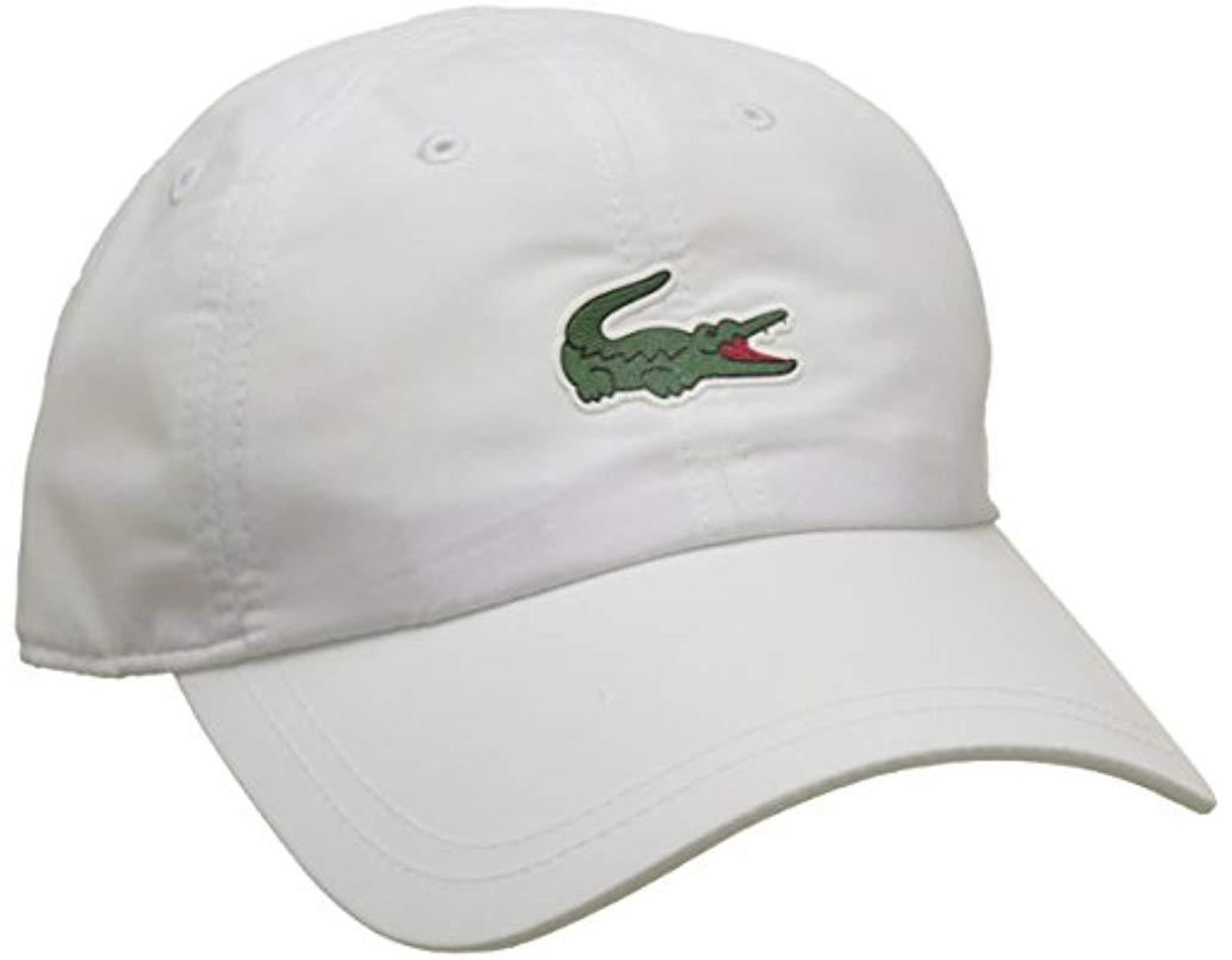 bc13f923 Lacoste Baseball Cap in White for Men - Save 8% - Lyst
