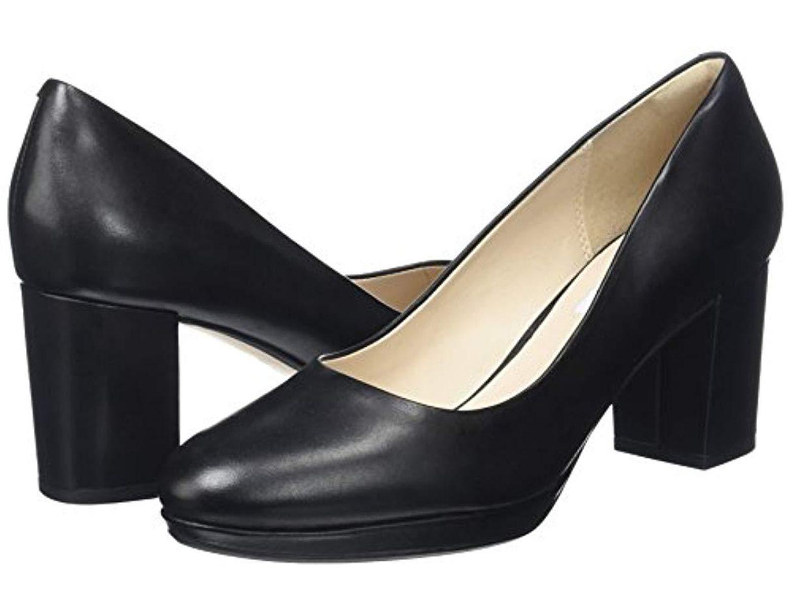 925fdd6f2ecc5 Clarks Kelda Hope Closed Toe Heels in Black - Lyst