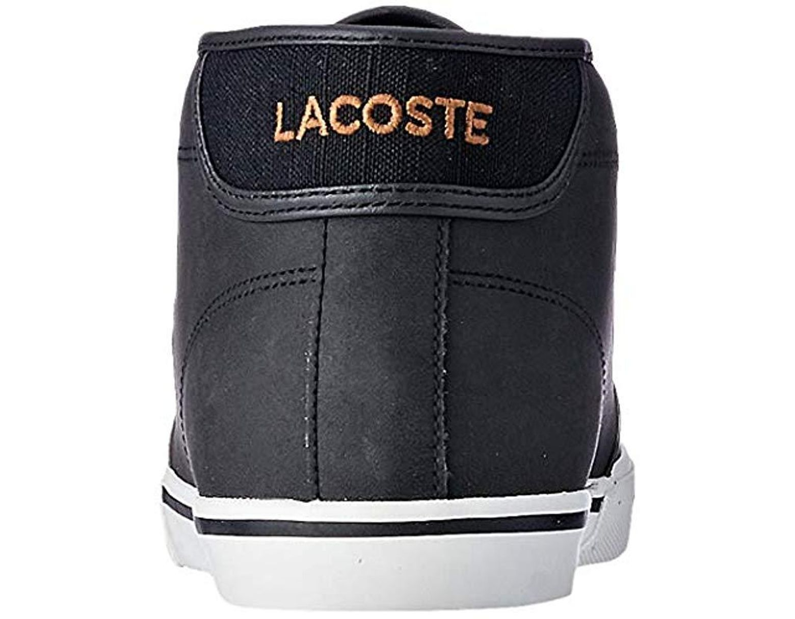 707d37030b70b Lacoste Ampthill 119 1 Cma Hi-top Trainers in Black for Men - Lyst