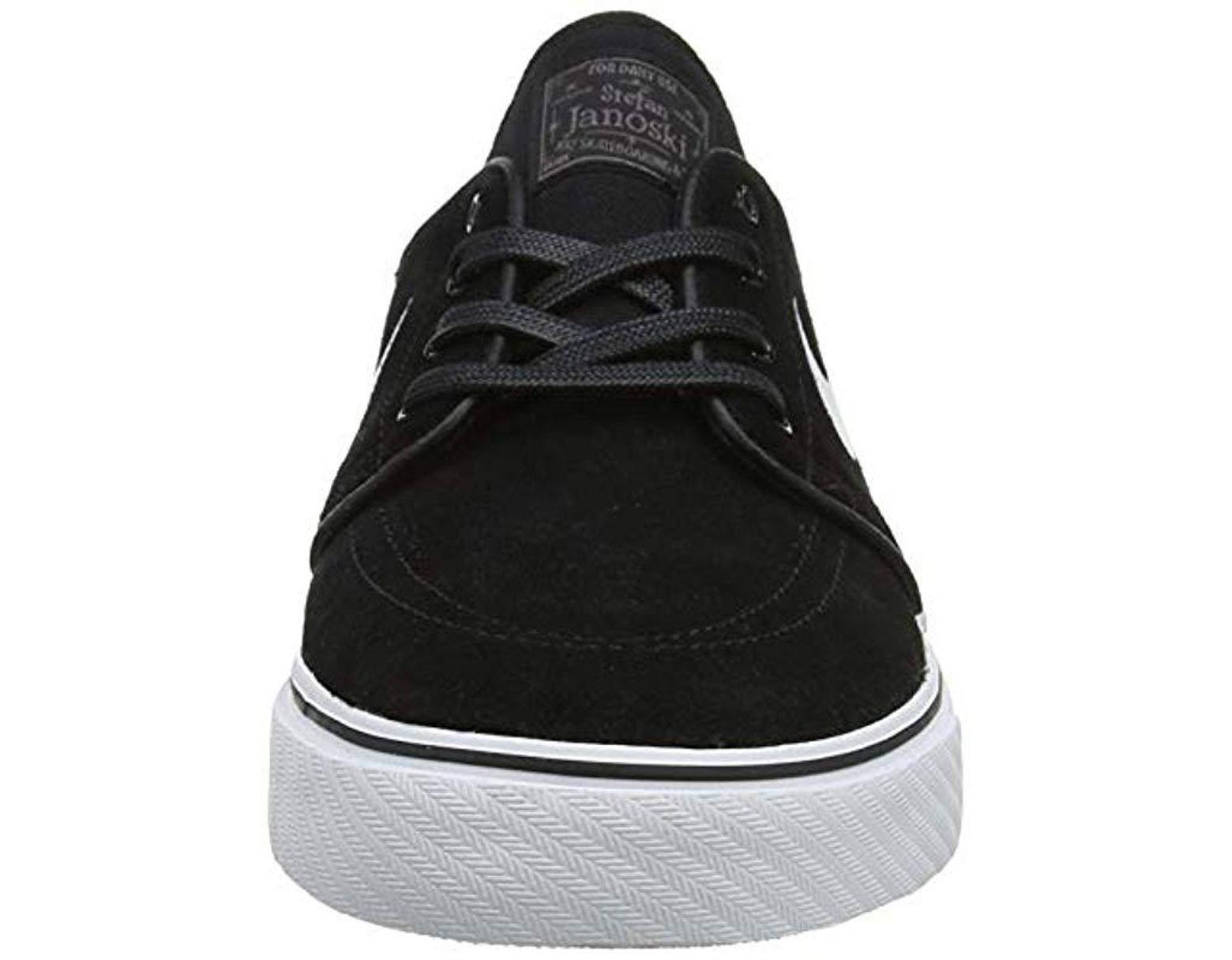 9724509d2f605 Nike Zoom Stefan Janoski 333824-067 Skateboarding Shoes in Black for ...