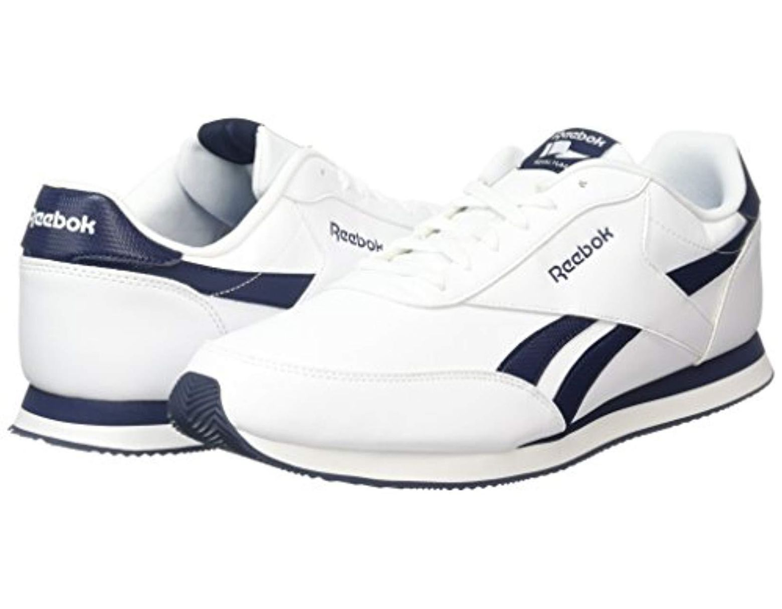 2707de6bab88b Reebok Royal Cl Jog 2l Gymnastics Shoes in White for Men - Save 32% - Lyst
