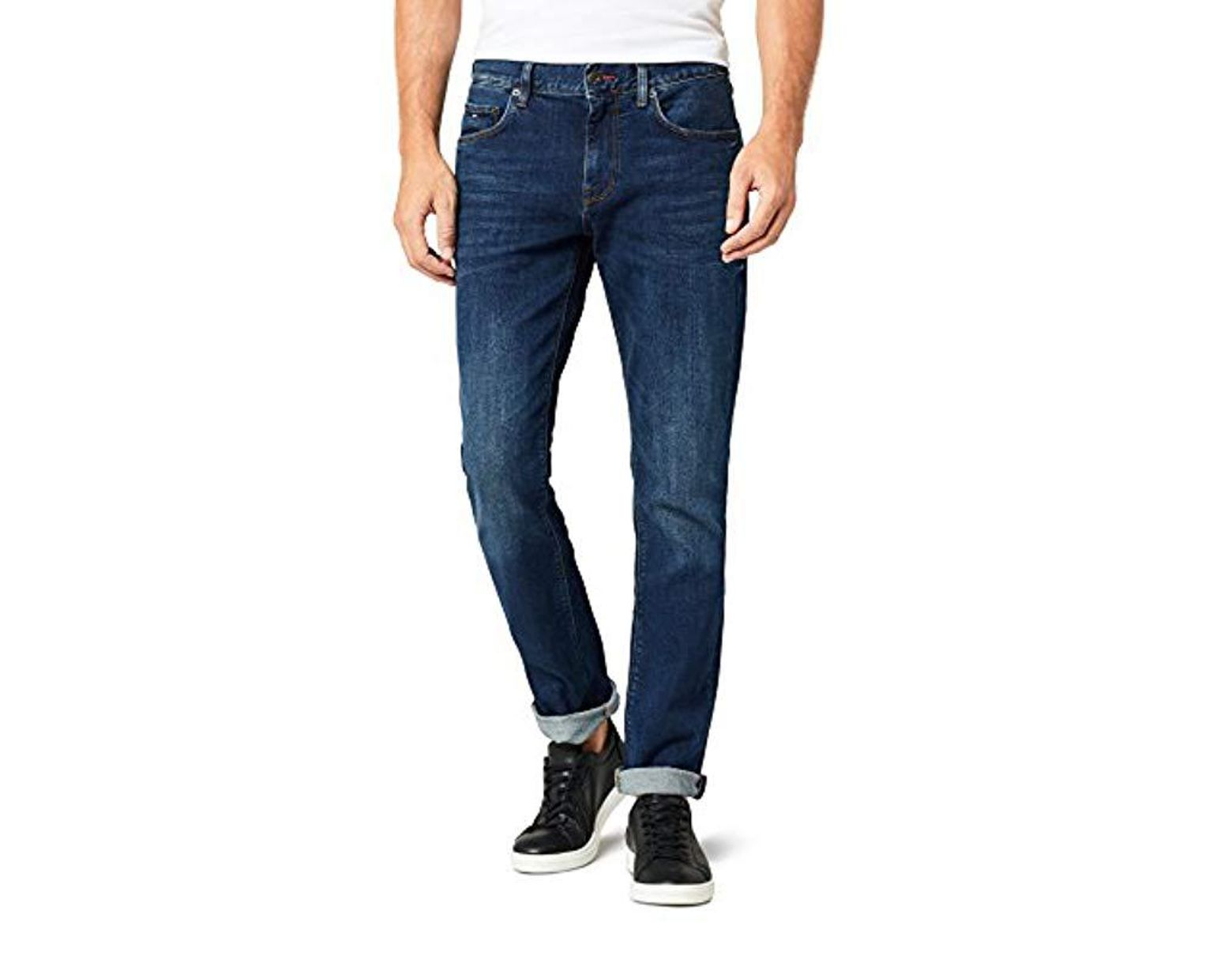 3b2fd481 Tommy Hilfiger Core Denton Straight Jean in Blue for Men - Save 22% - Lyst