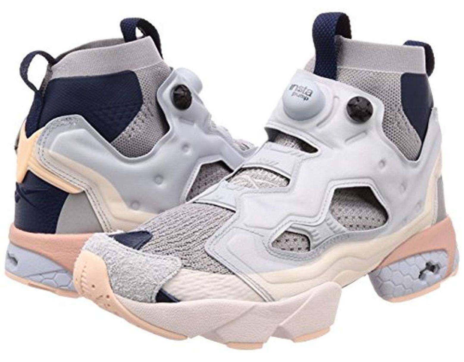 6610de09281df Reebok Instapump Fury Og Ultk Dp S Running Trainers Sneakers in Gray ...