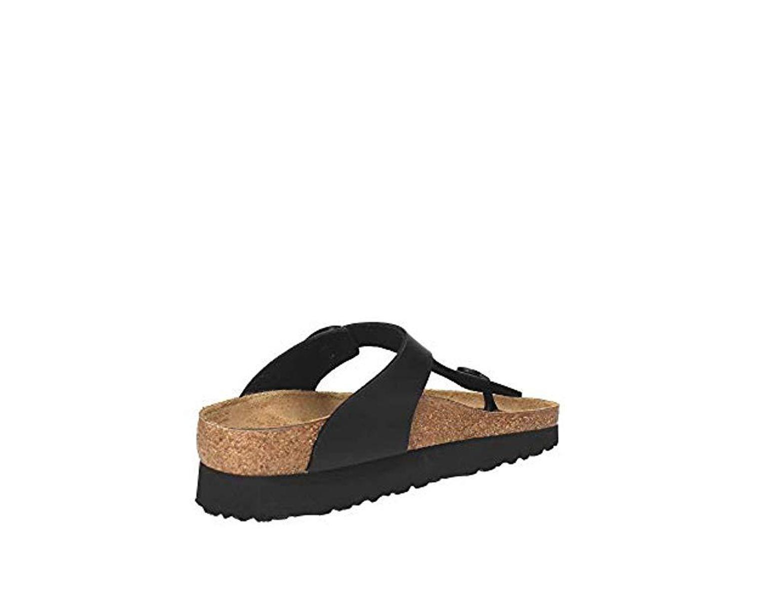 Bf Birkenstock In W Lyst Black Sandals Gizeh Thong yN8n0vmwO
