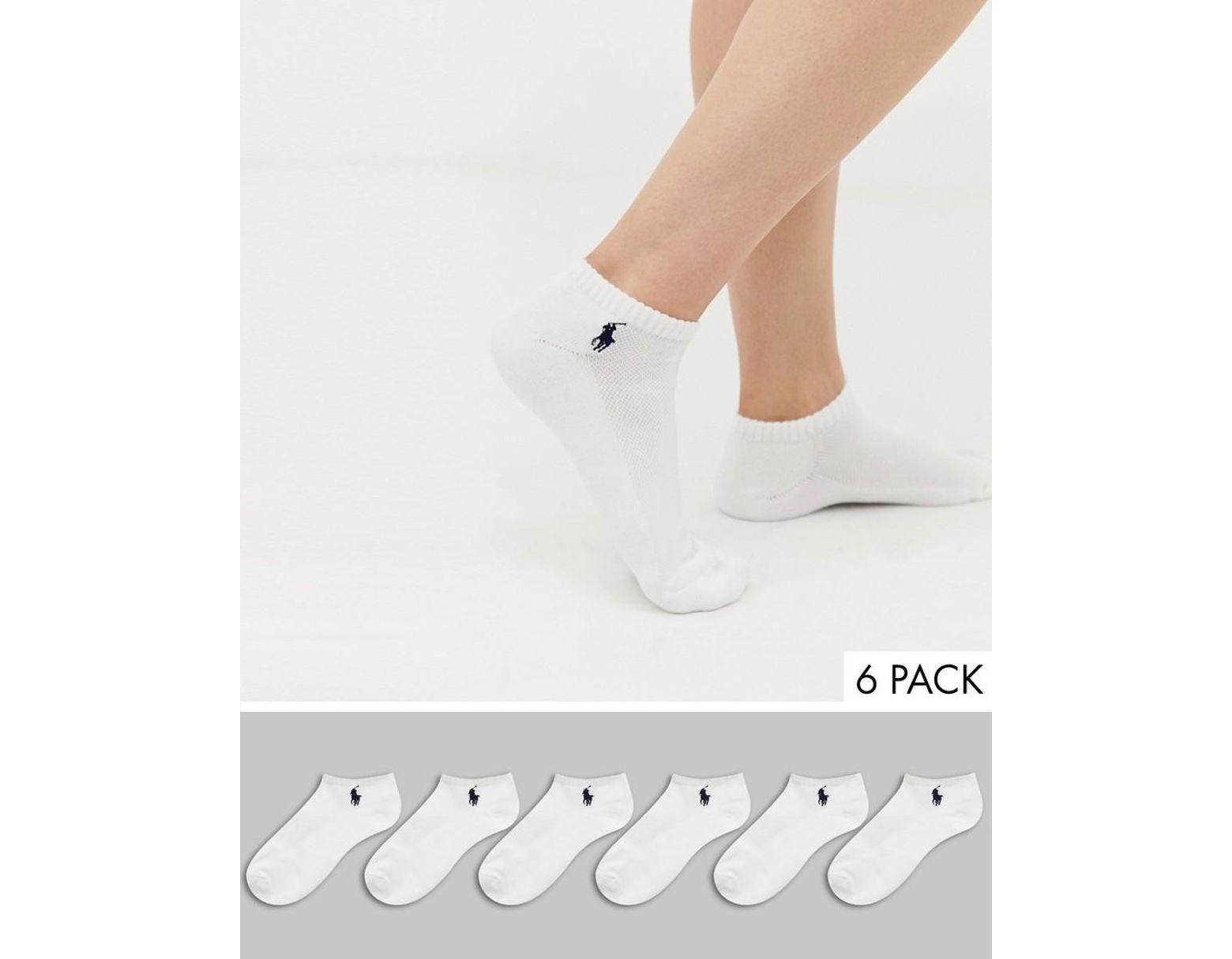 Polo Ralph Lauren Kurze Sneaker Socken mit gepolsterter