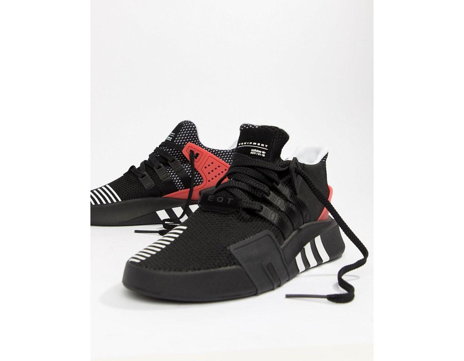 a3096405bca adidas Originals Eqt Bask Adv Sneakers In Black Aq1013 in Black for Men -  Lyst