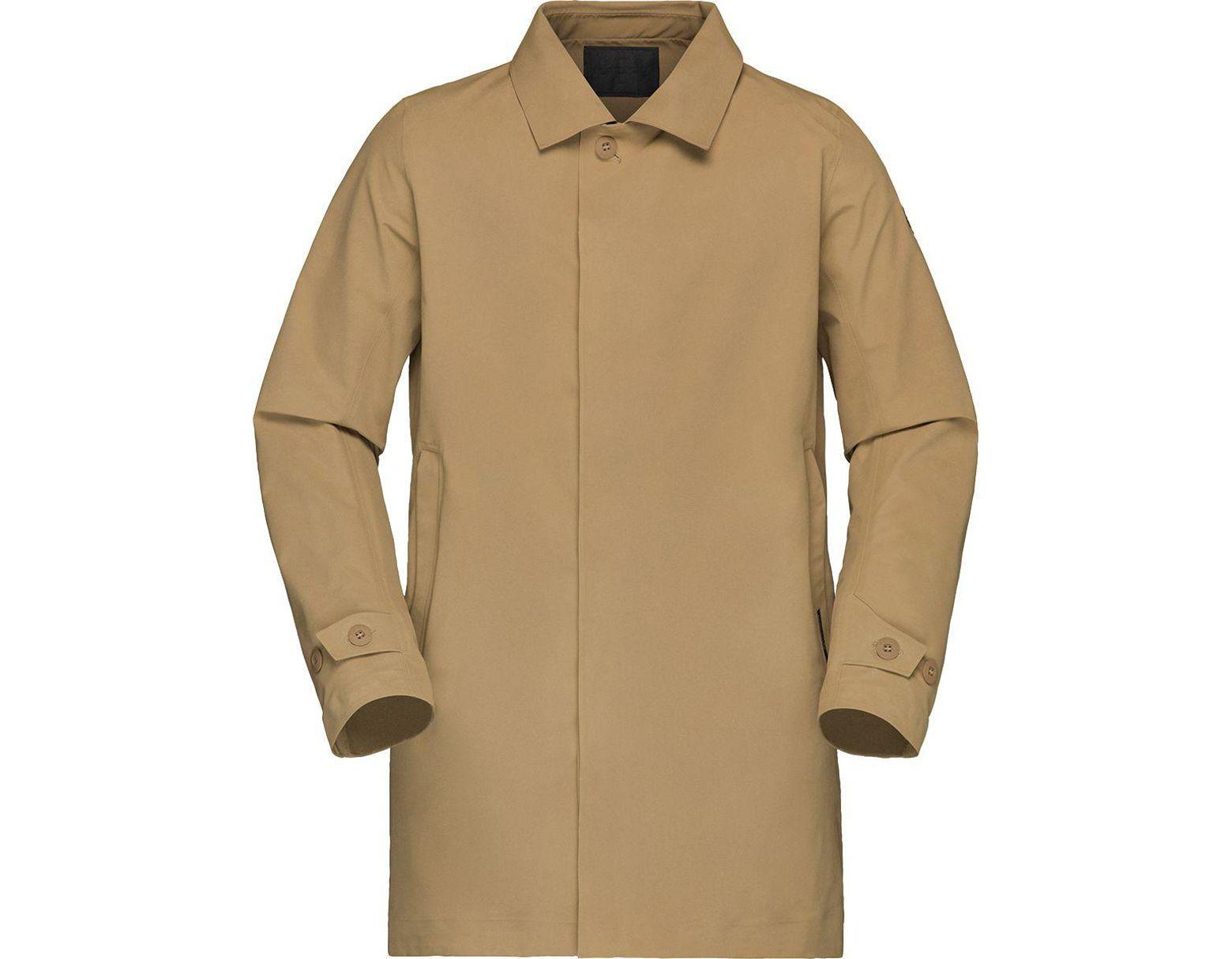 9a3955223f8 Norrøna Oslo Gore-tex Coat in Brown for Men - Lyst