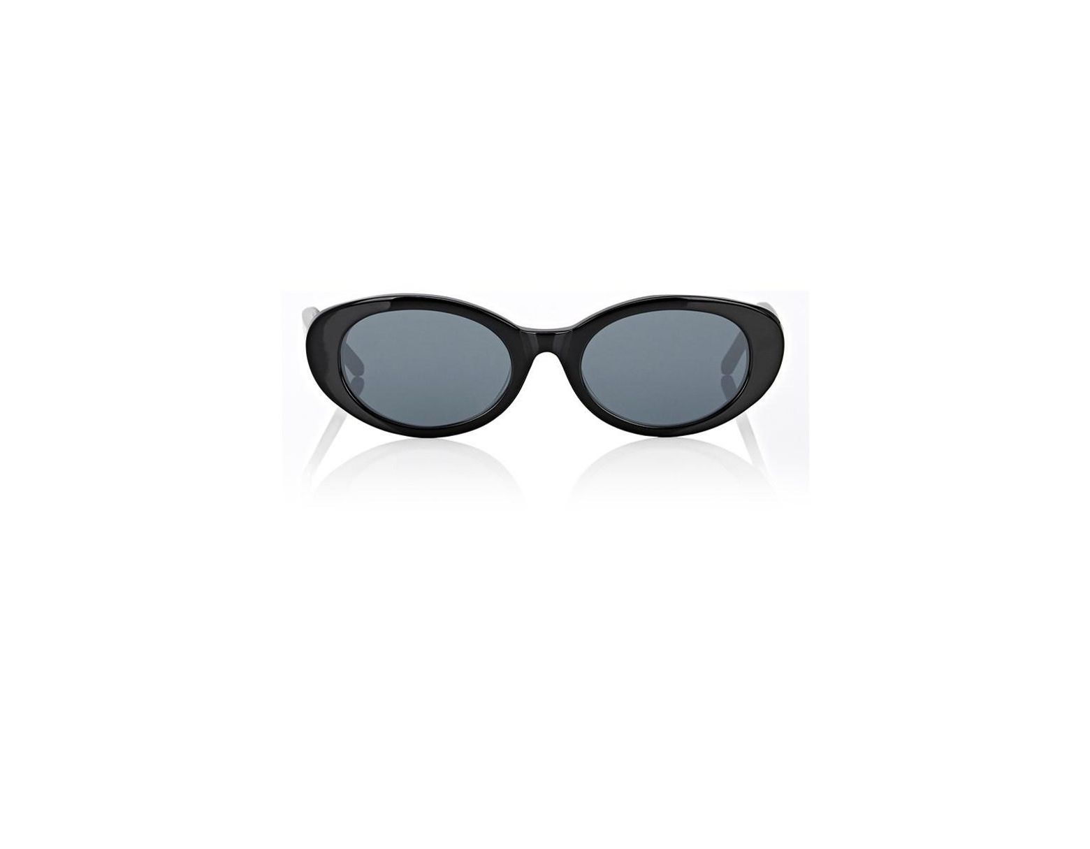 ae39686e8d6d0 ROBERI AND FRAUD Betty Sunglasses in Black - Lyst
