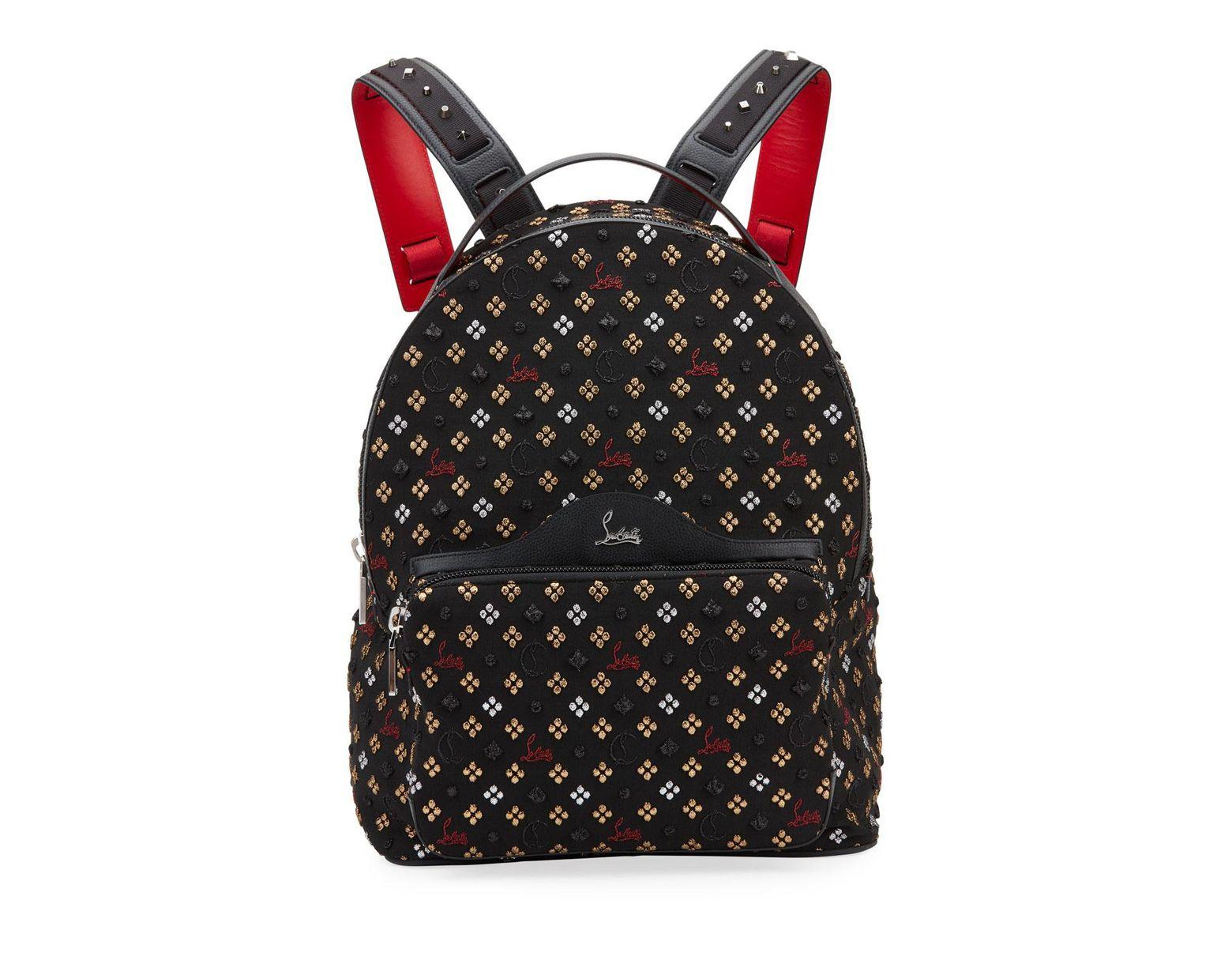 7844df78ce4 Men's Backloubi Jacquard Canvas Backpack