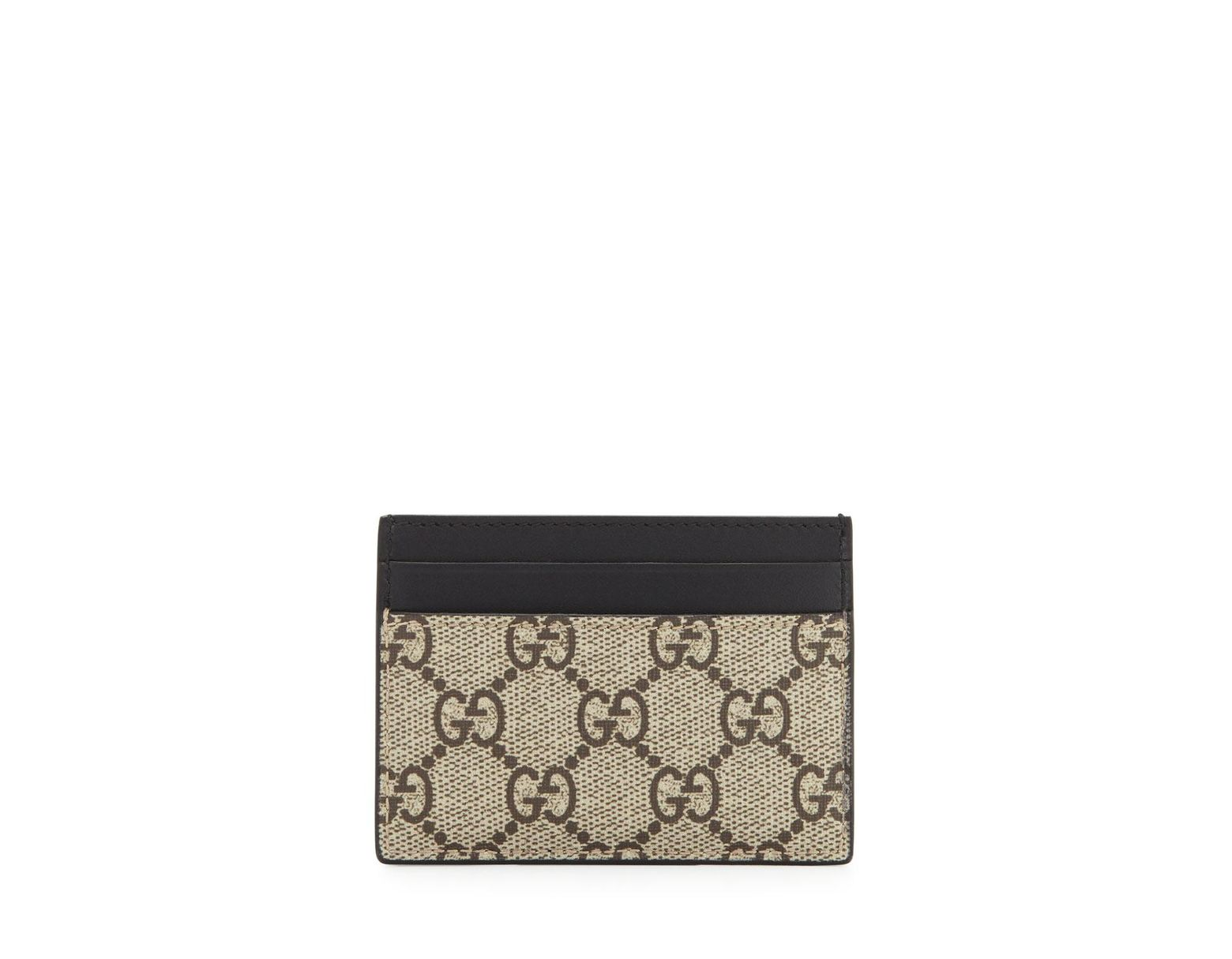 ffc391a741ef Gucci. Women's Natural Bestiary Bee-print GG Supreme Card Case. $290 From  Bergdorf Goodman. Free shipping ...