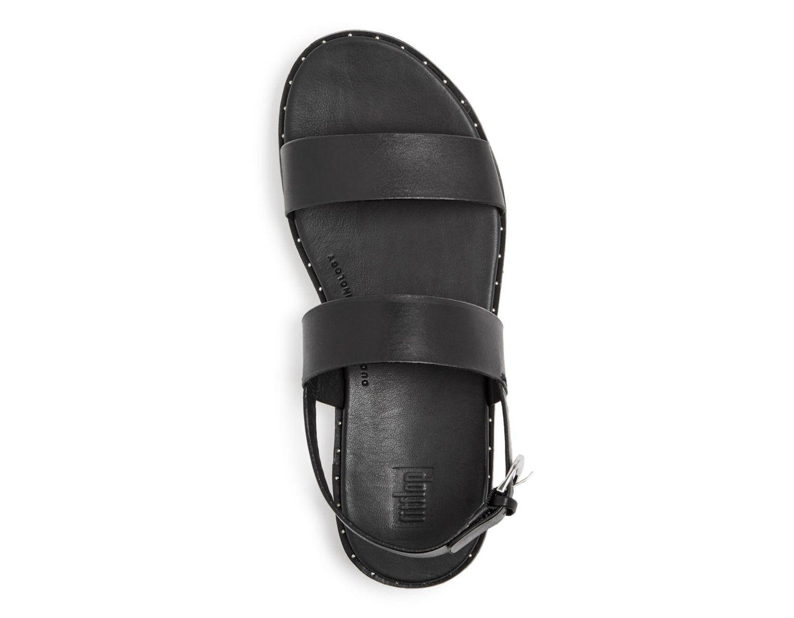 brand new 35cd7 d8d64 Black Women's Barra Ankle Strap Sandals