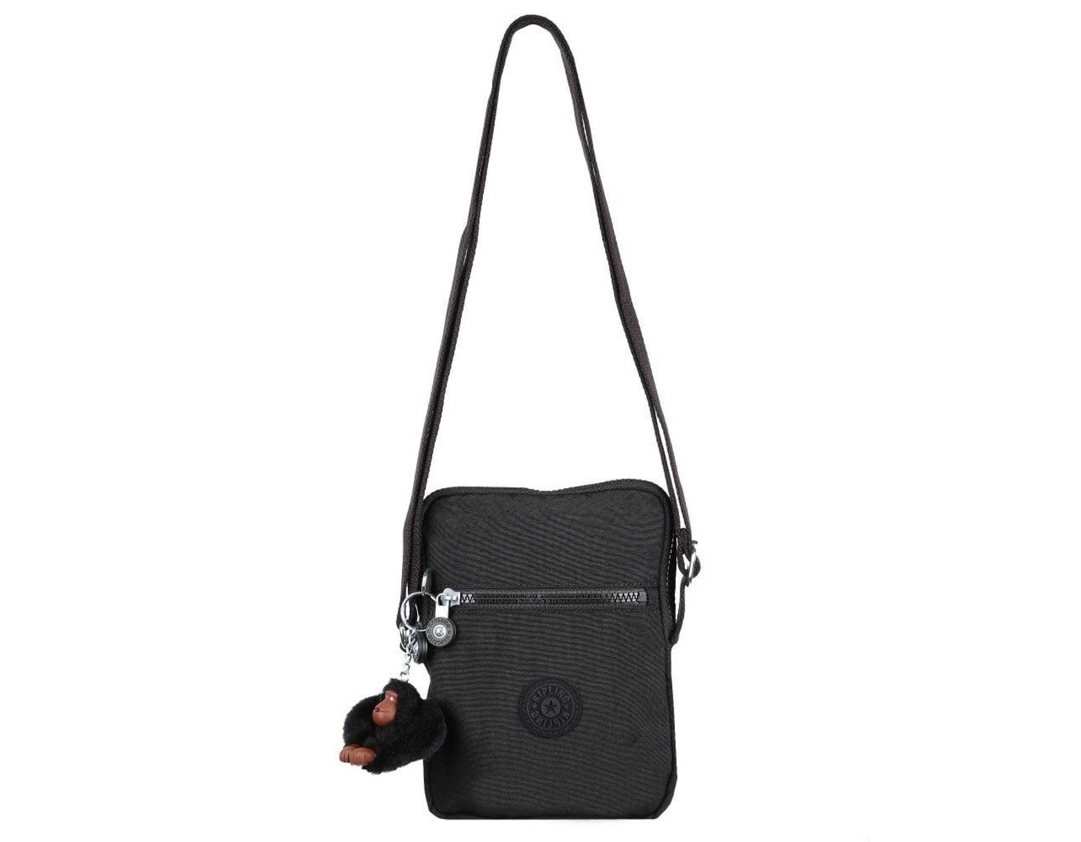 44efdd957c6 Kipling Essyla Womens Messenger Handbag in Black - Lyst