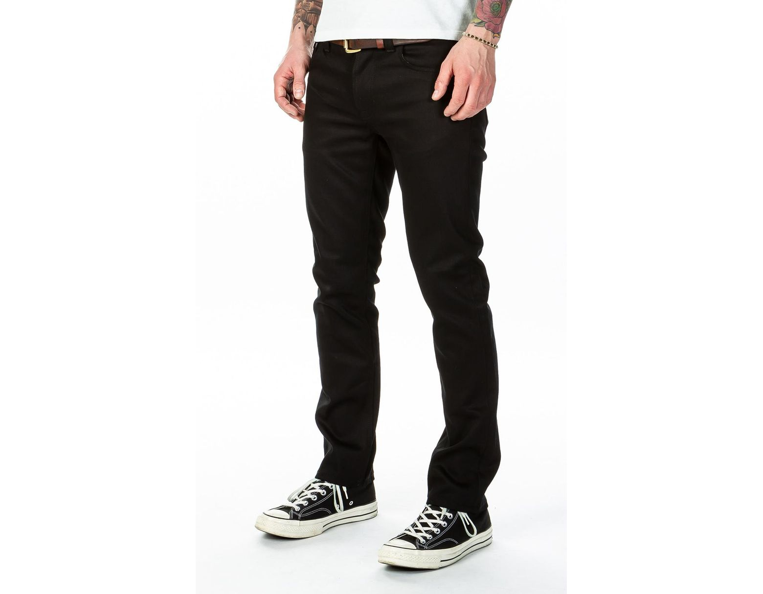 a869135b Nudie Jeans Grim Tim Dry Ever Black in Black for Men - Save 2% - Lyst