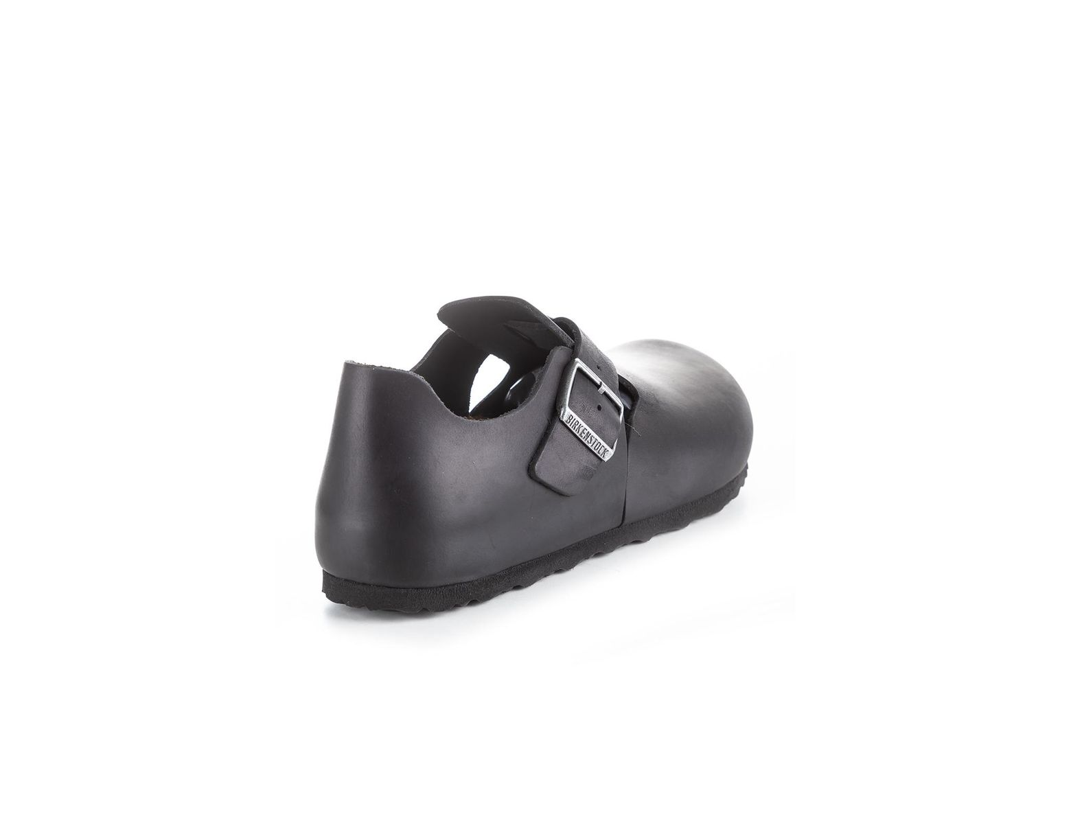London Shoe Birkenstock Black Leat Oiled m8Nnw0