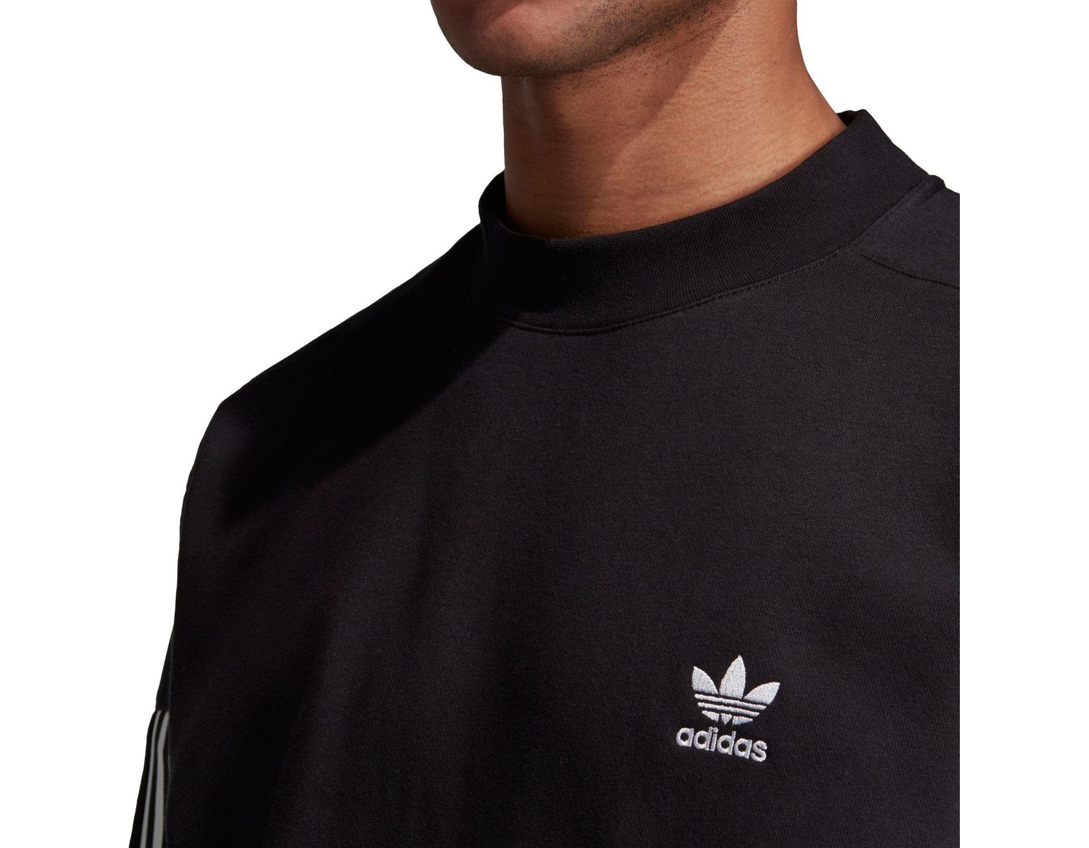 Adidas Sweatshirt Black In Men Crewneck Originals Tech For Lyst CxdBroe