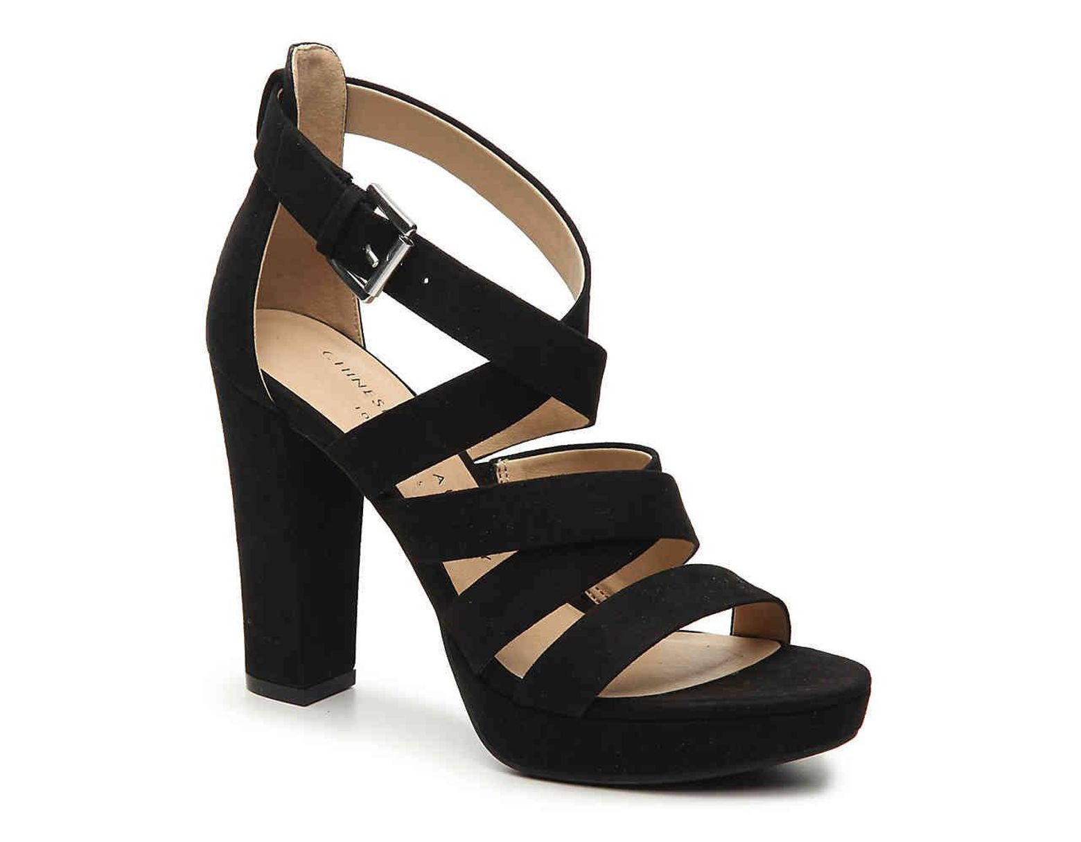 3eee5841a3 Chinese Laundry Amber Platform Sandal in Black - Lyst