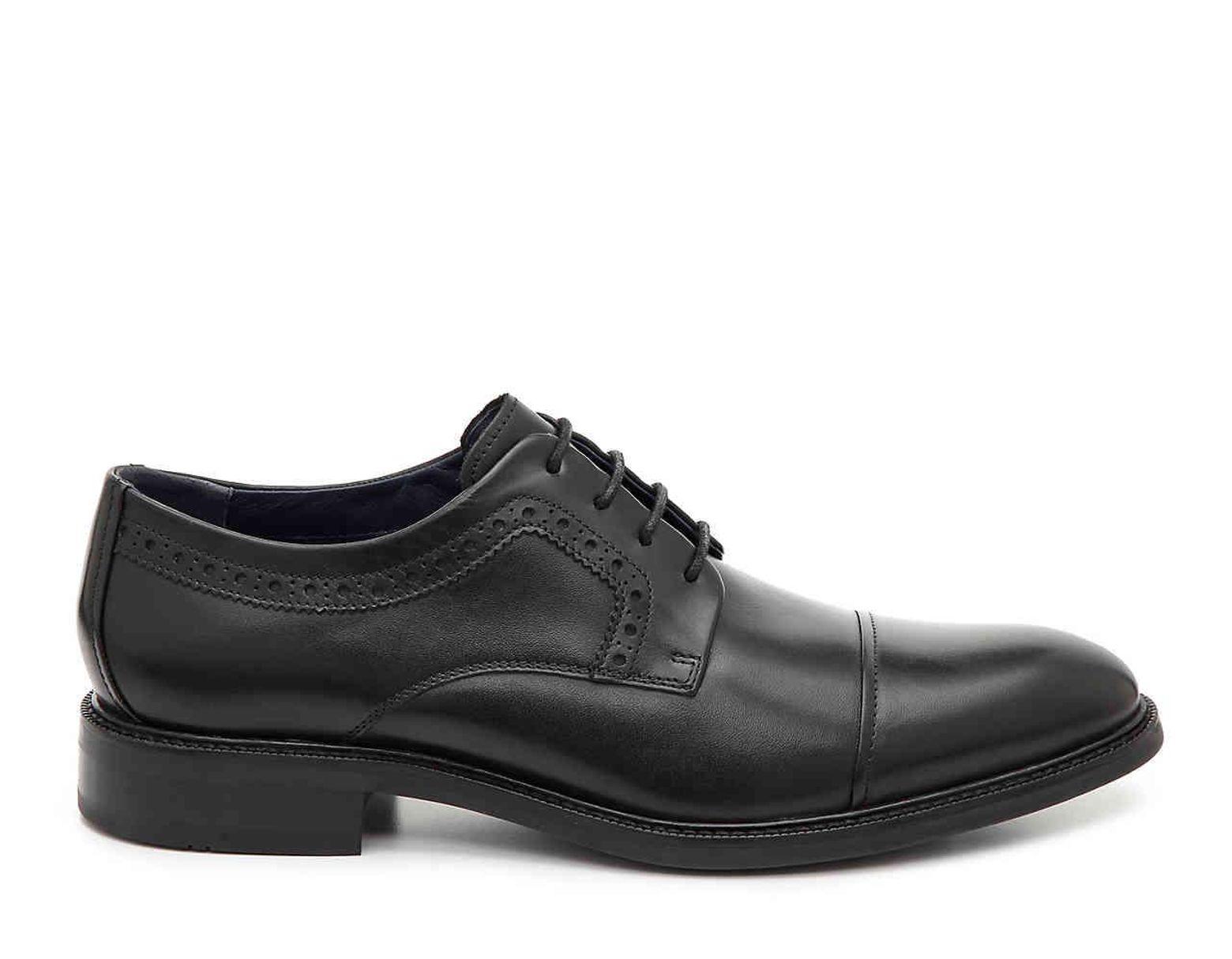b2163de1117 Cole Haan Buckland Cap Toe Oxford in Black for Men - Lyst